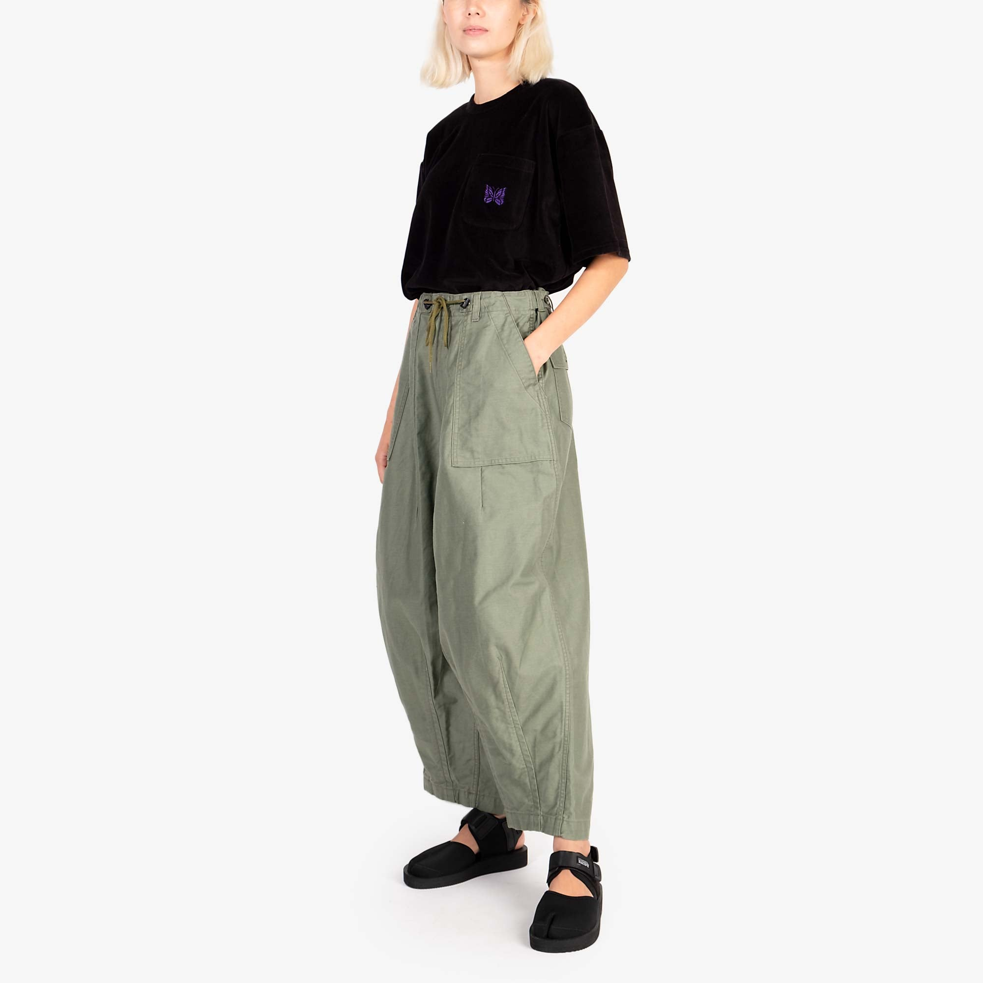 Needles W' H.D. Fatigue Pant - Olive 2