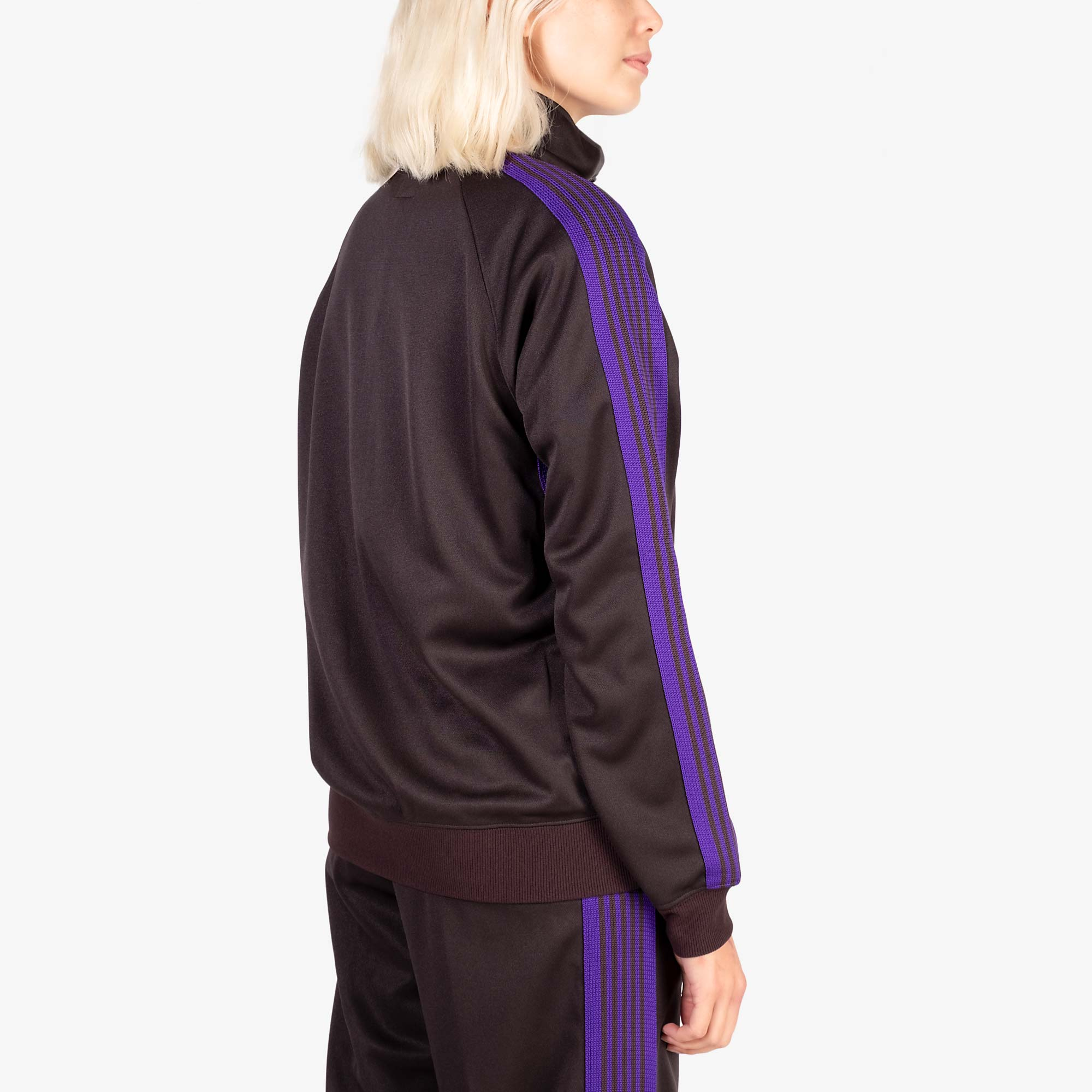 Needles W' Track Jacket Poly Smooth - Charcoal 8