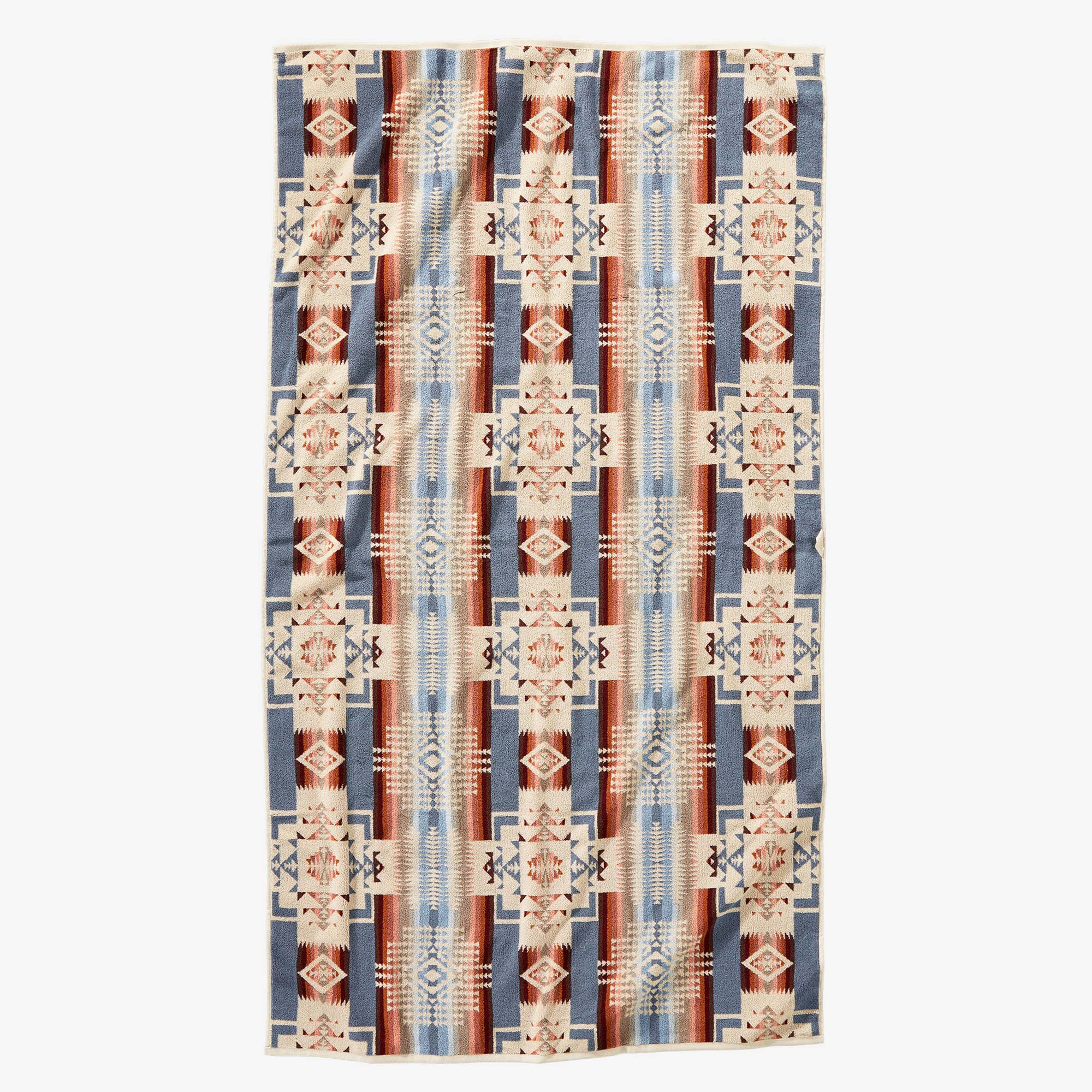 Pendleton Chief Joseph Rosewood Beach Towel - Cream 2