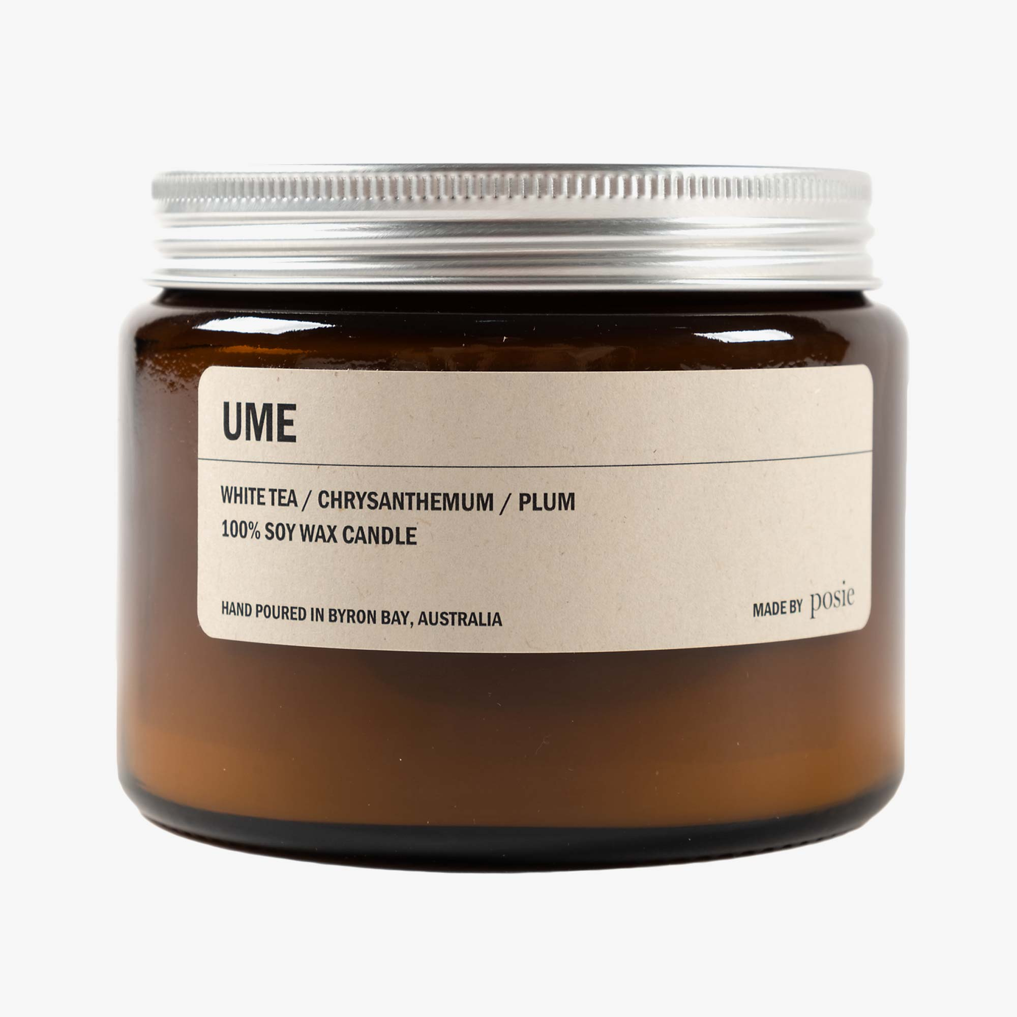 Posie Ume 500g Candle - Amber 1