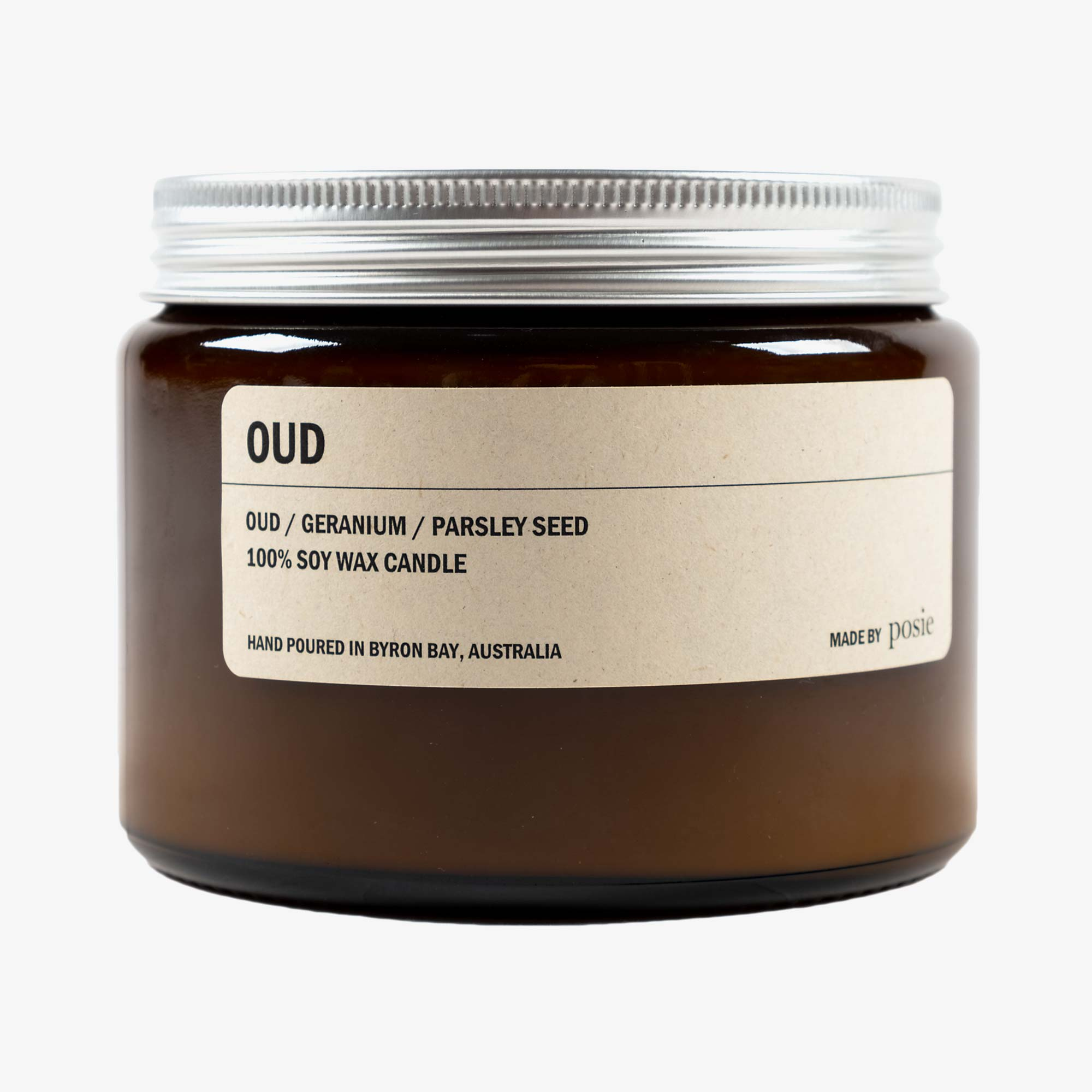 Posie Oud 500g Candle - Amber 1