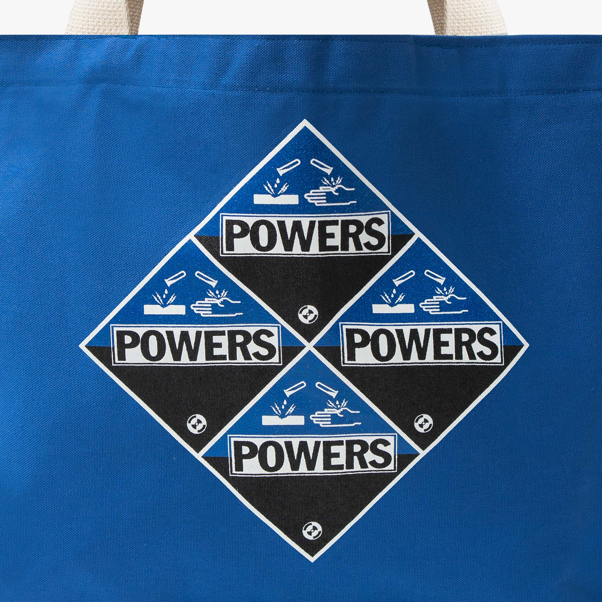 Powers Supply Corrosion Tote Bag - Canvas / Blue 2
