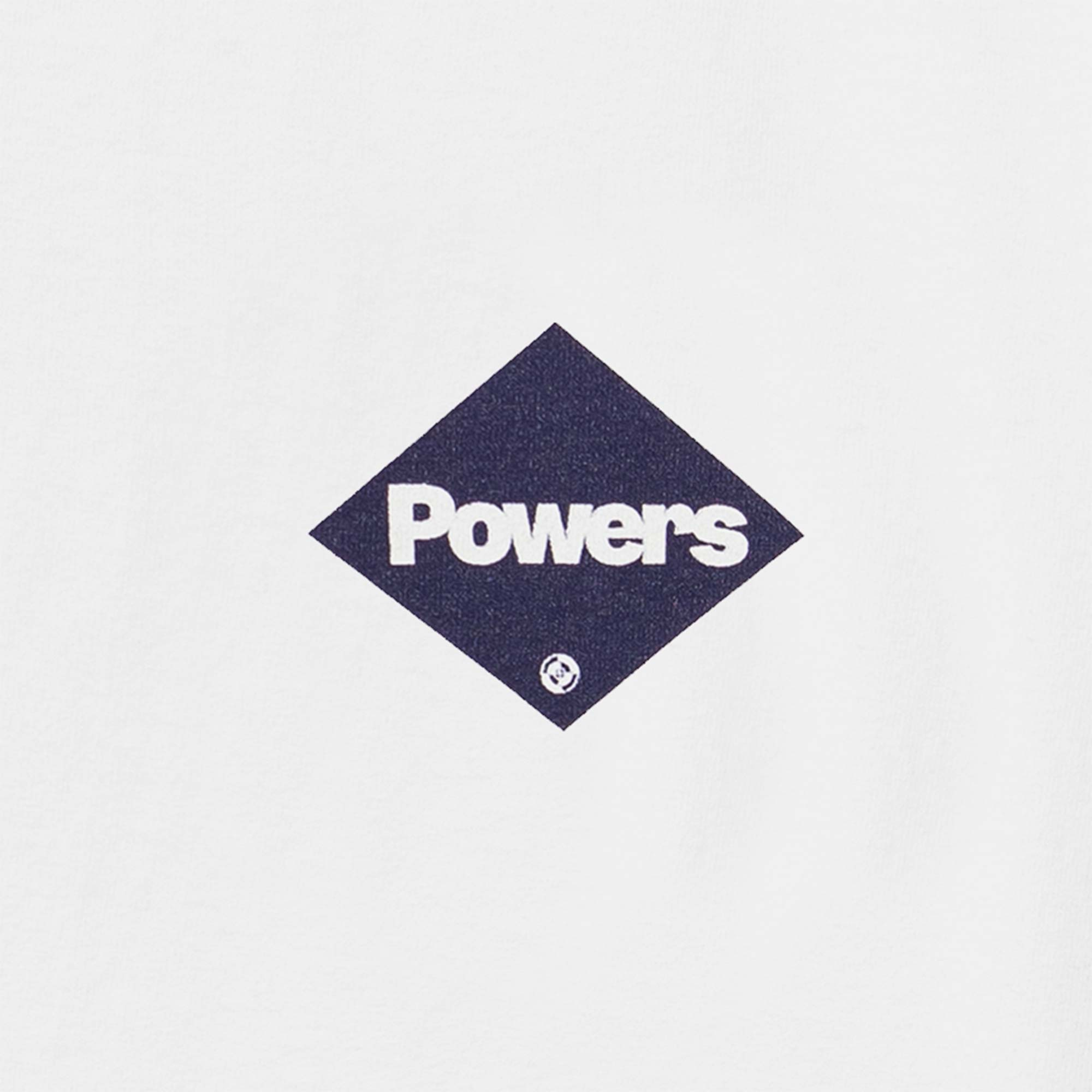 Powers Supply Diamond Logo SS Tee - White 3
