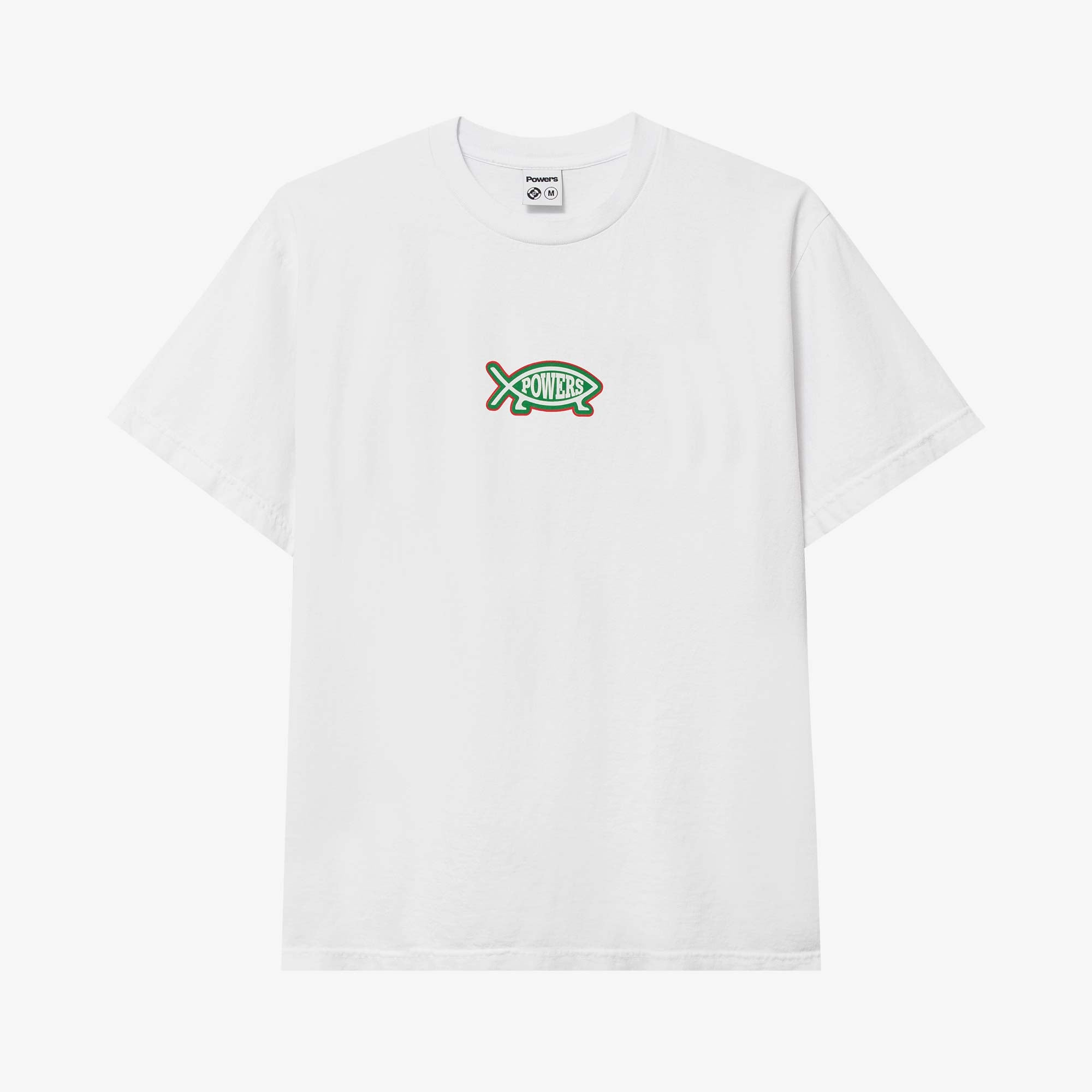 Powers Supply Evolution SS Tee - White 2