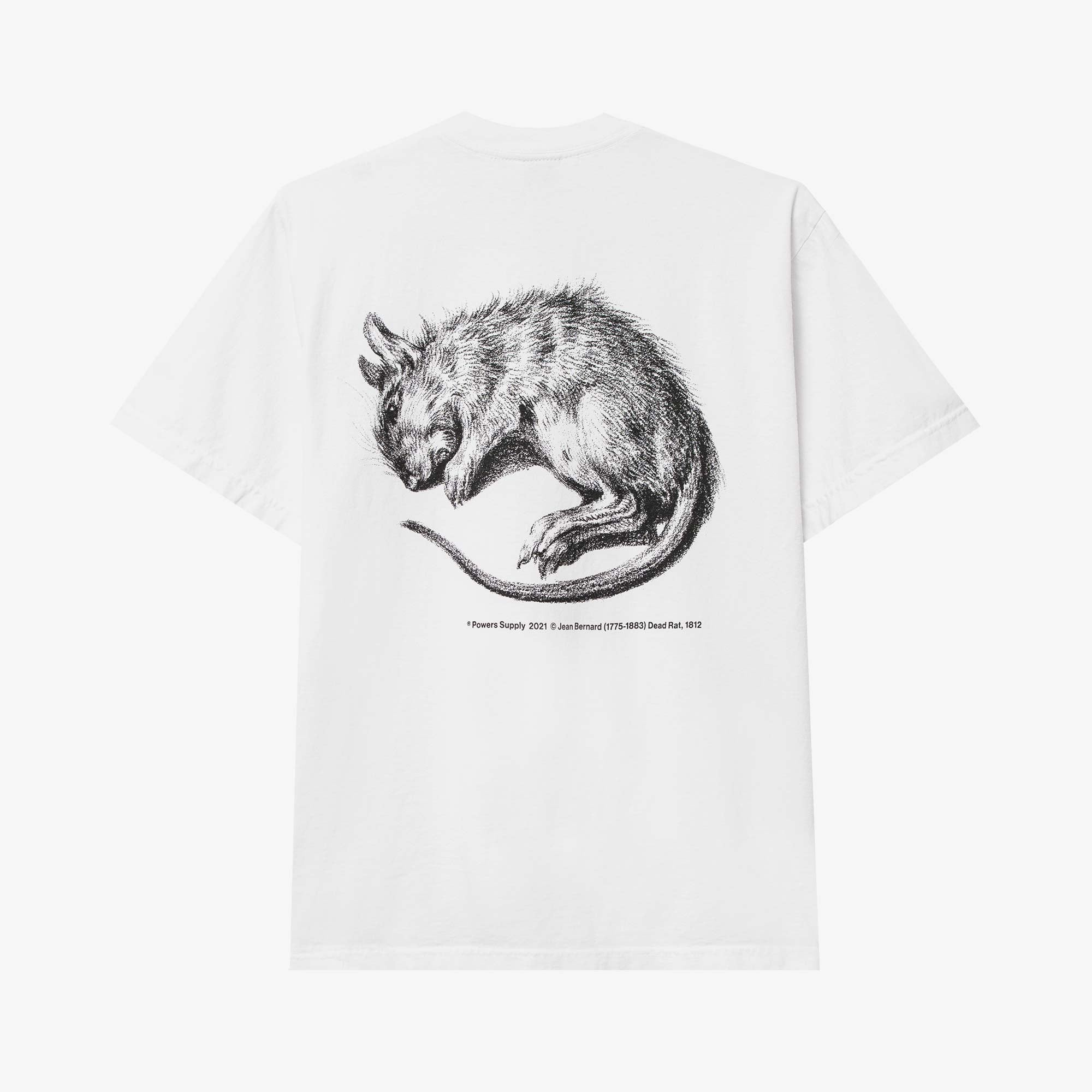 Powers Supply Vermin SS Tee - White 1