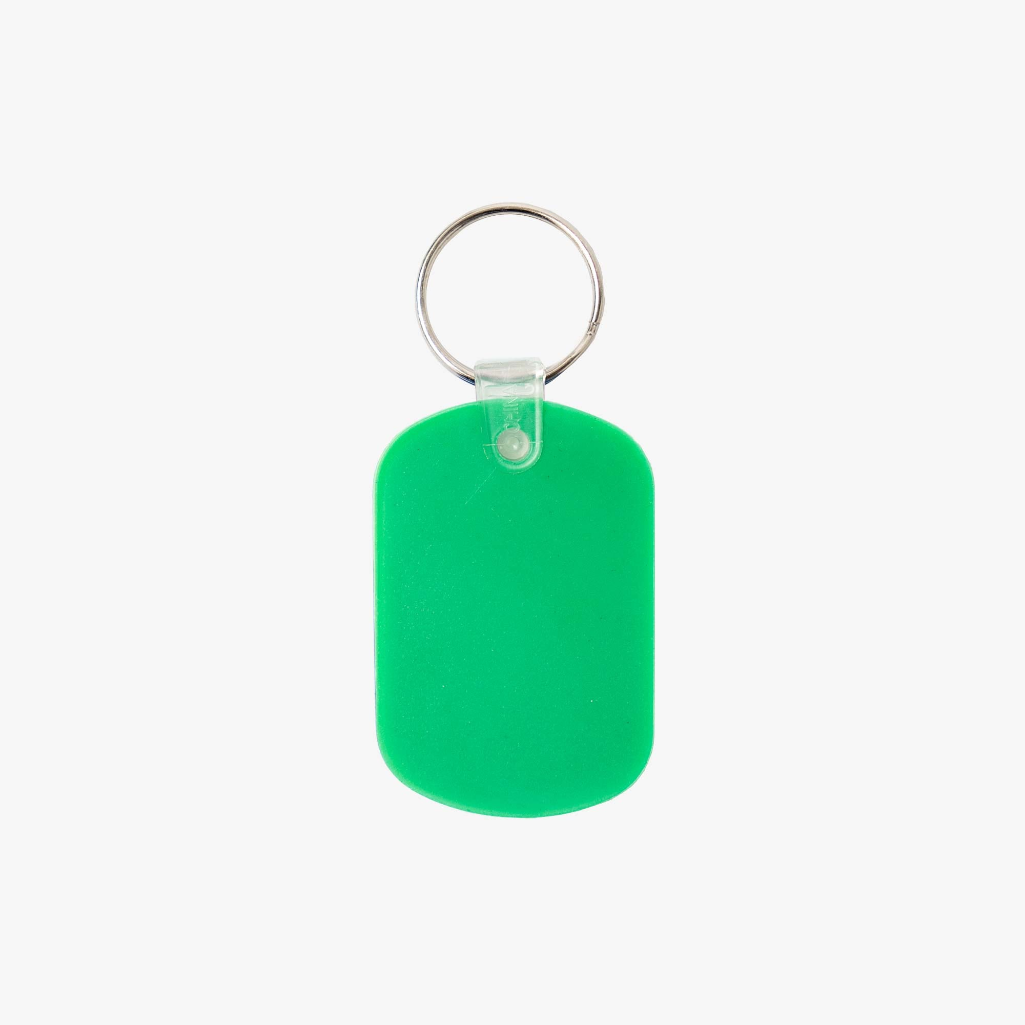 Real Bad Man Guest Key Chain - Green 2