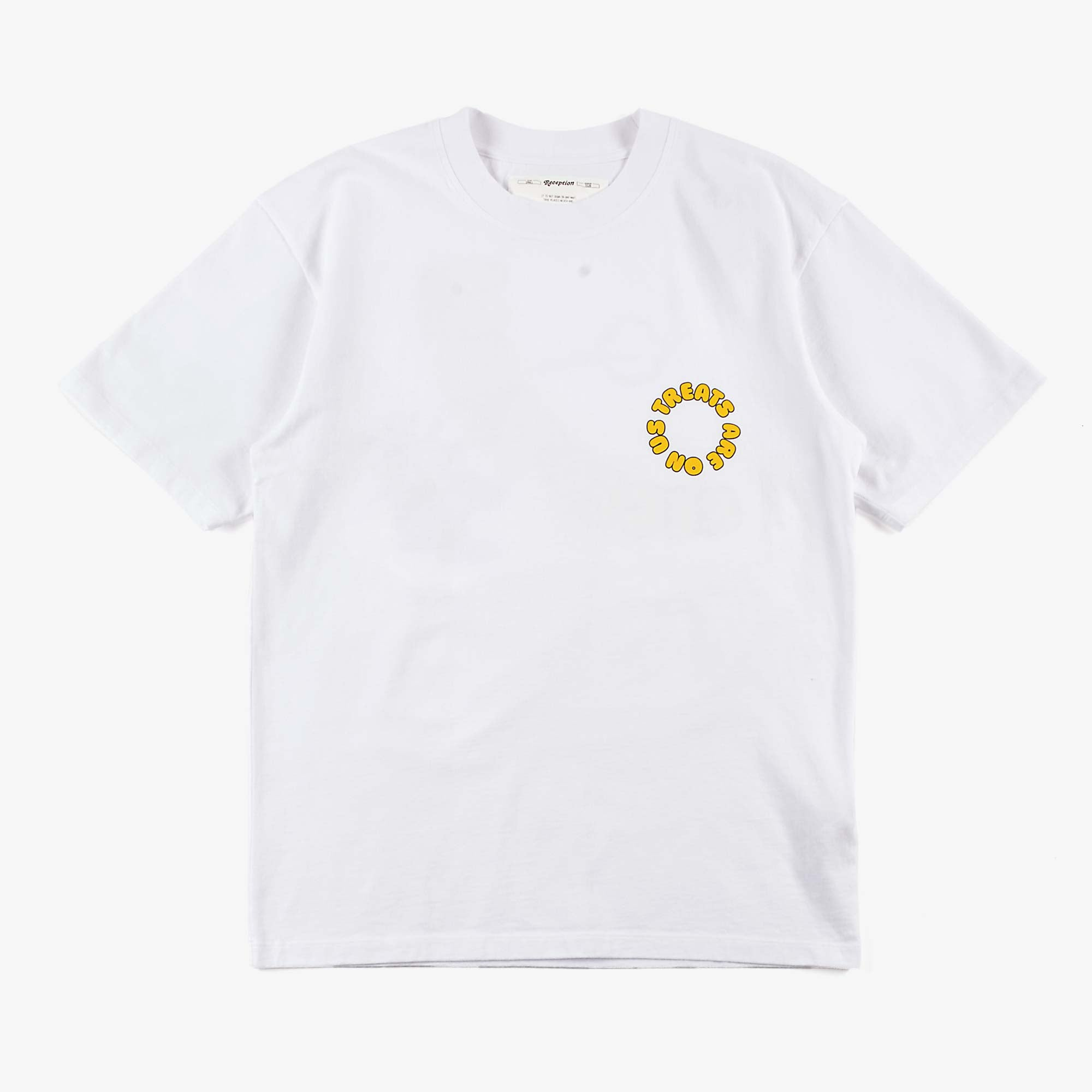 Reception SS Mosquito Tee - White 2