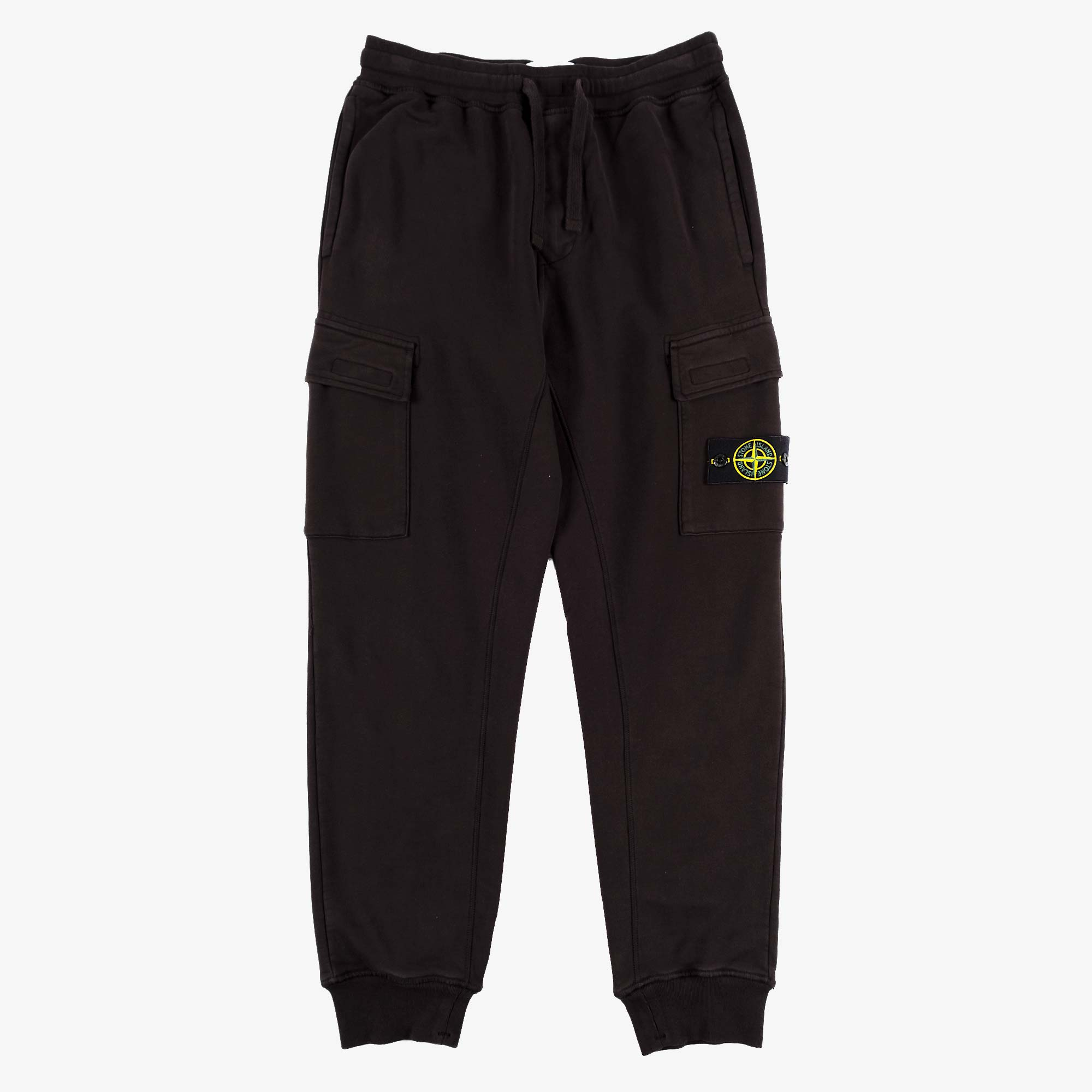 Stone Island Fleece Pants 741565251 - Black 1