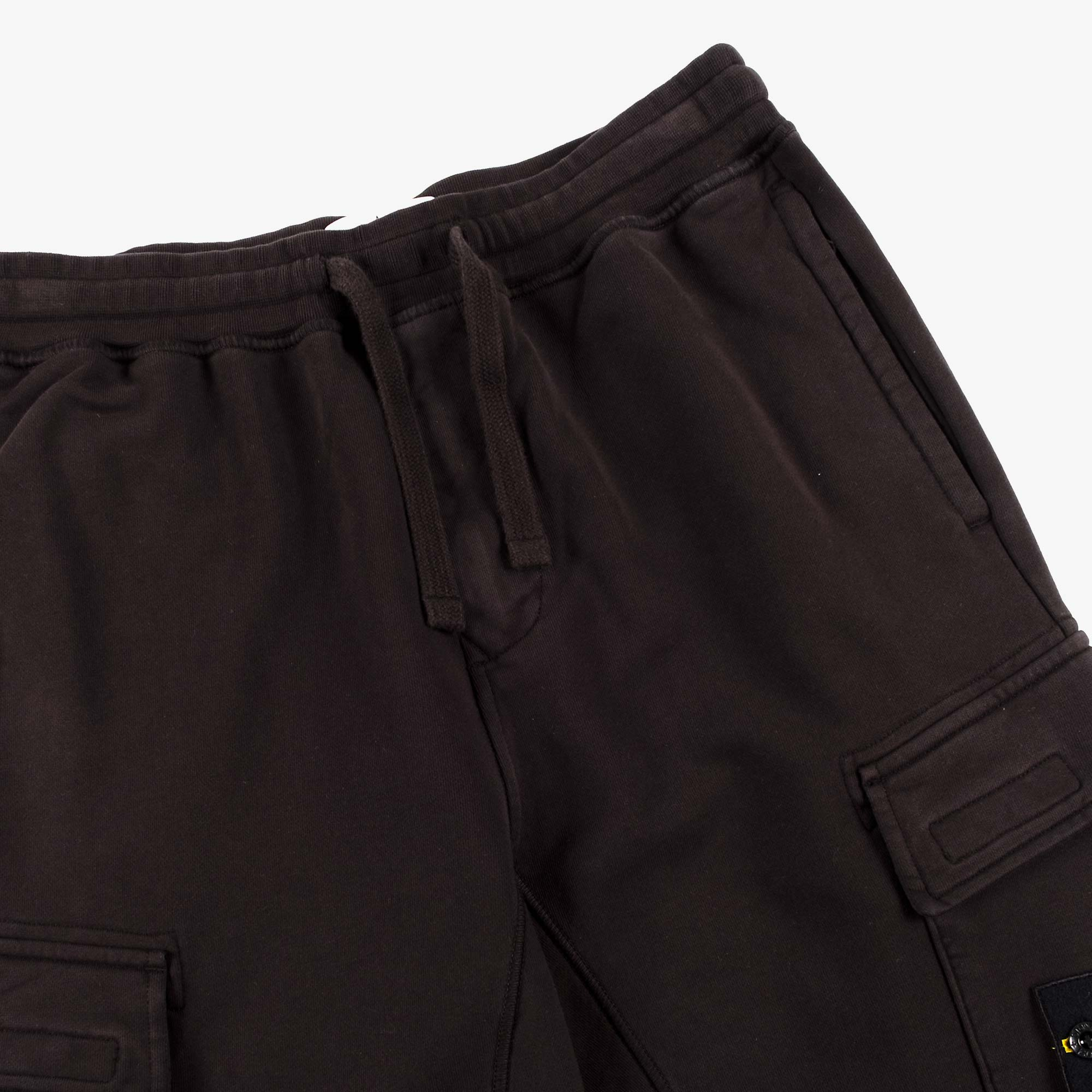 Stone Island Fleece Pants 741565251 - Black 4