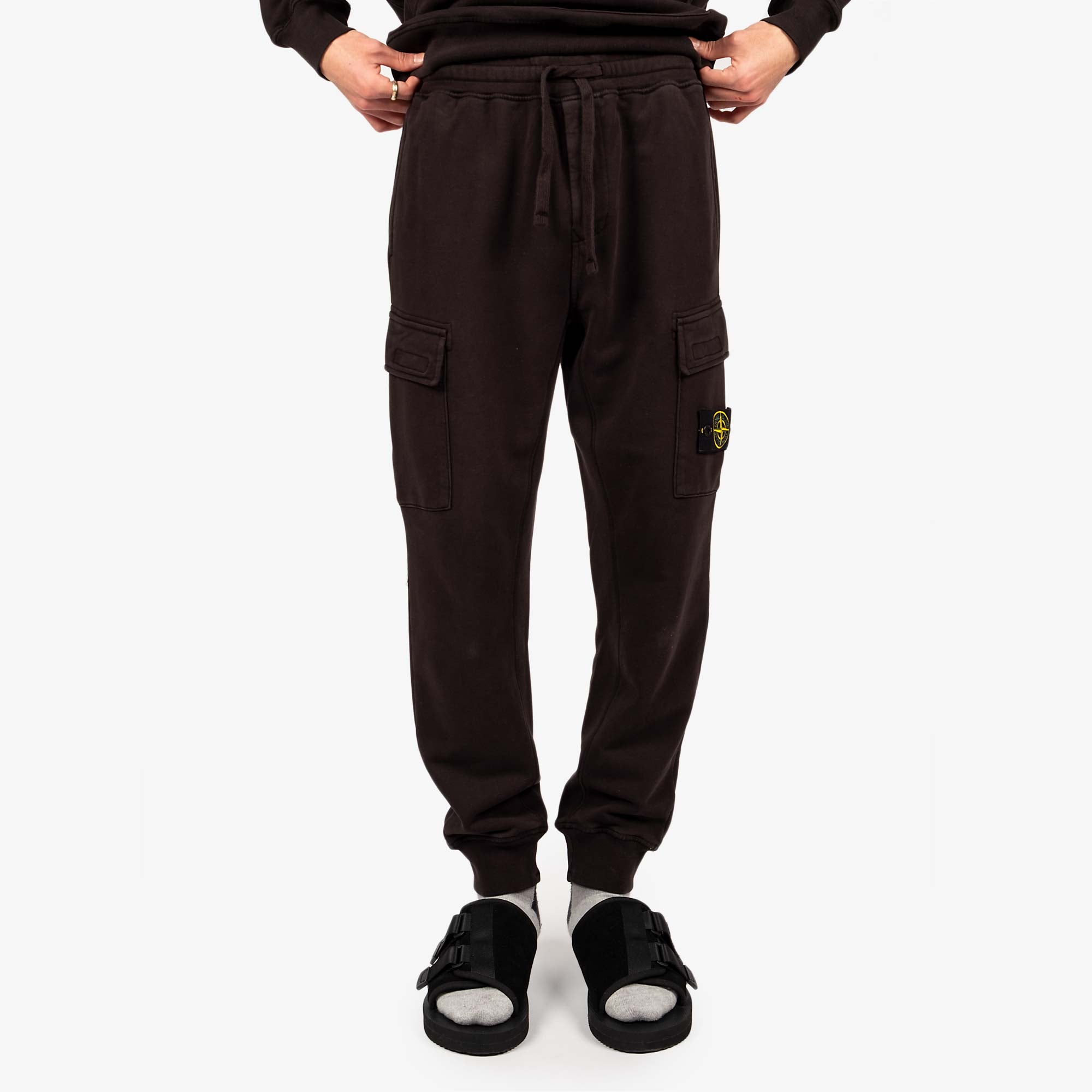 Stone Island Fleece Pants 741565251 - Black 7