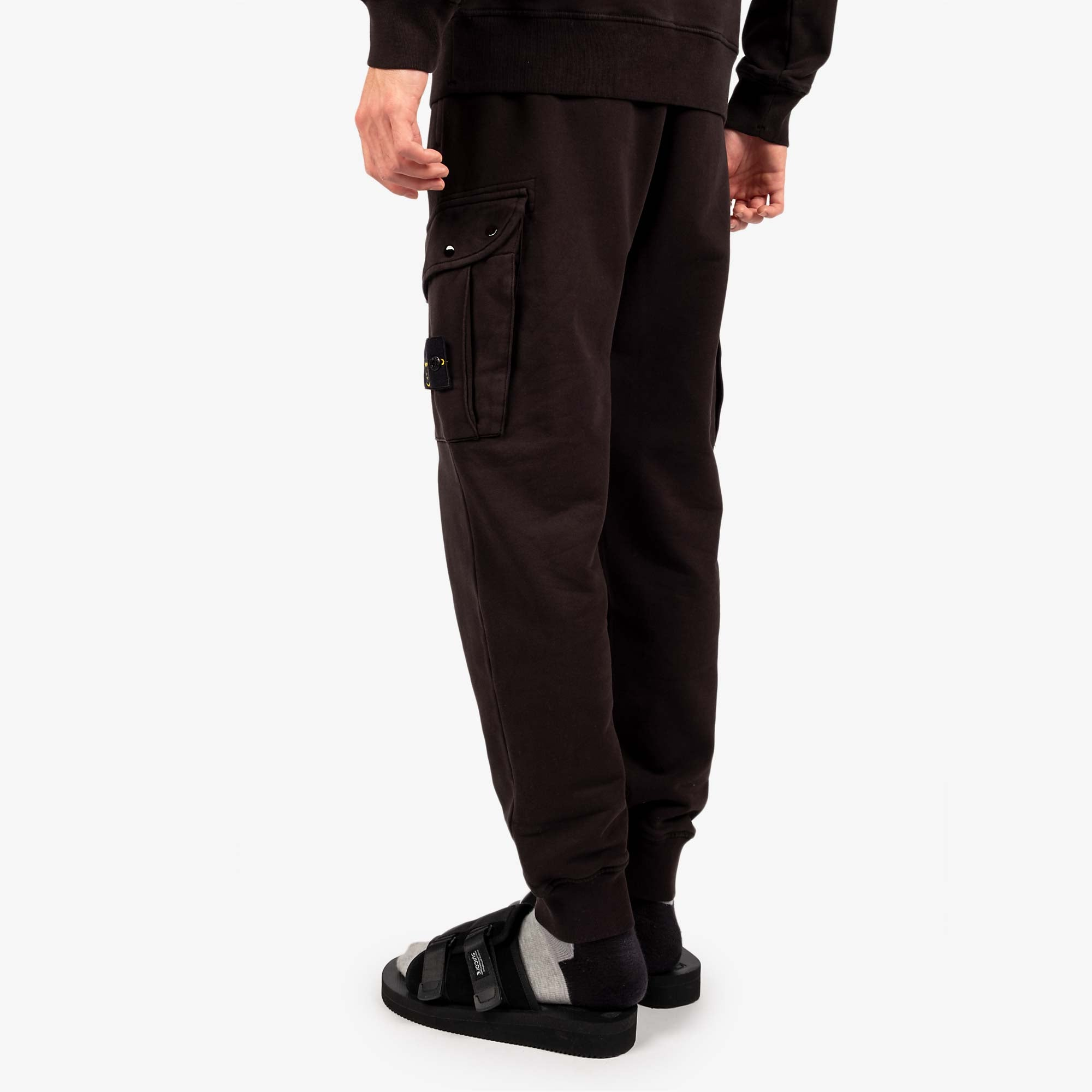 Stone Island Fleece Pants 741565251 - Black 8