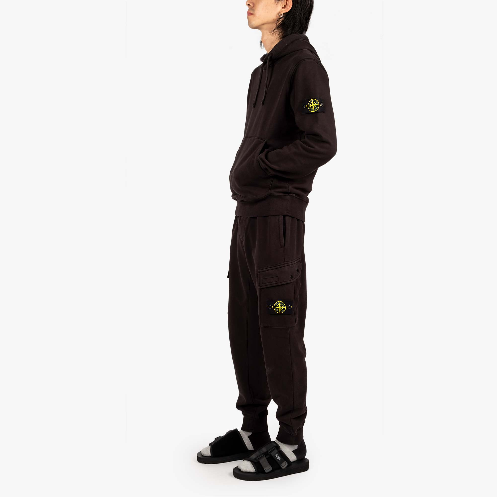 Stone Island Fleece Pants 741565251 - Black 6