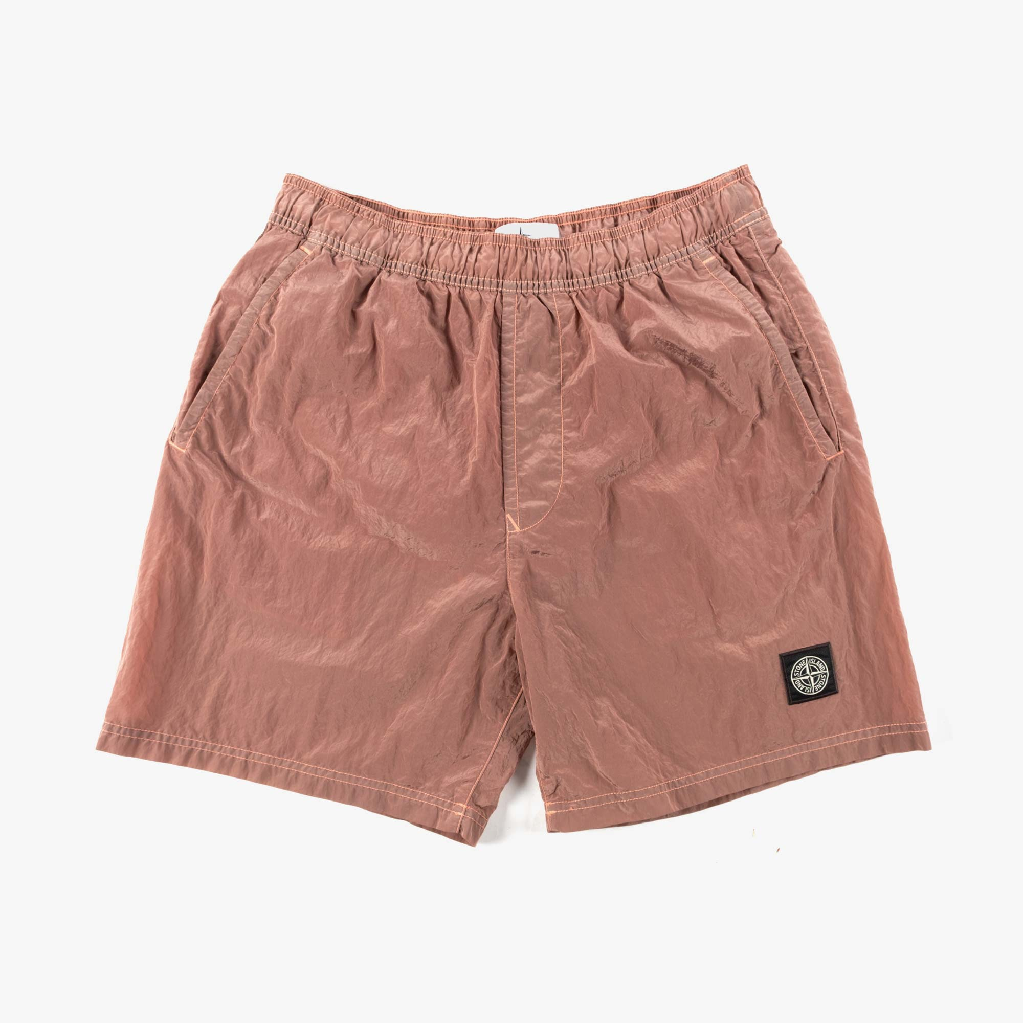 Stone Island Nylon Metal Swim Shorts 7415B0943 Shorts - Rose Quartz 1