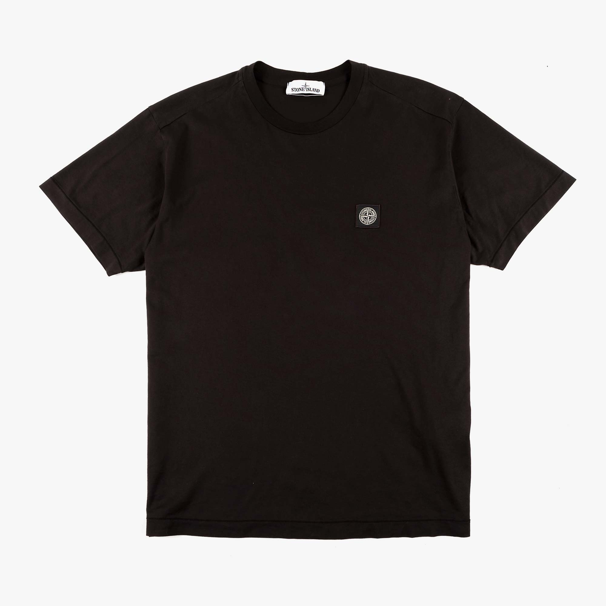 Stone Island Patch Logo T-Shirt 741524113 - Black 1