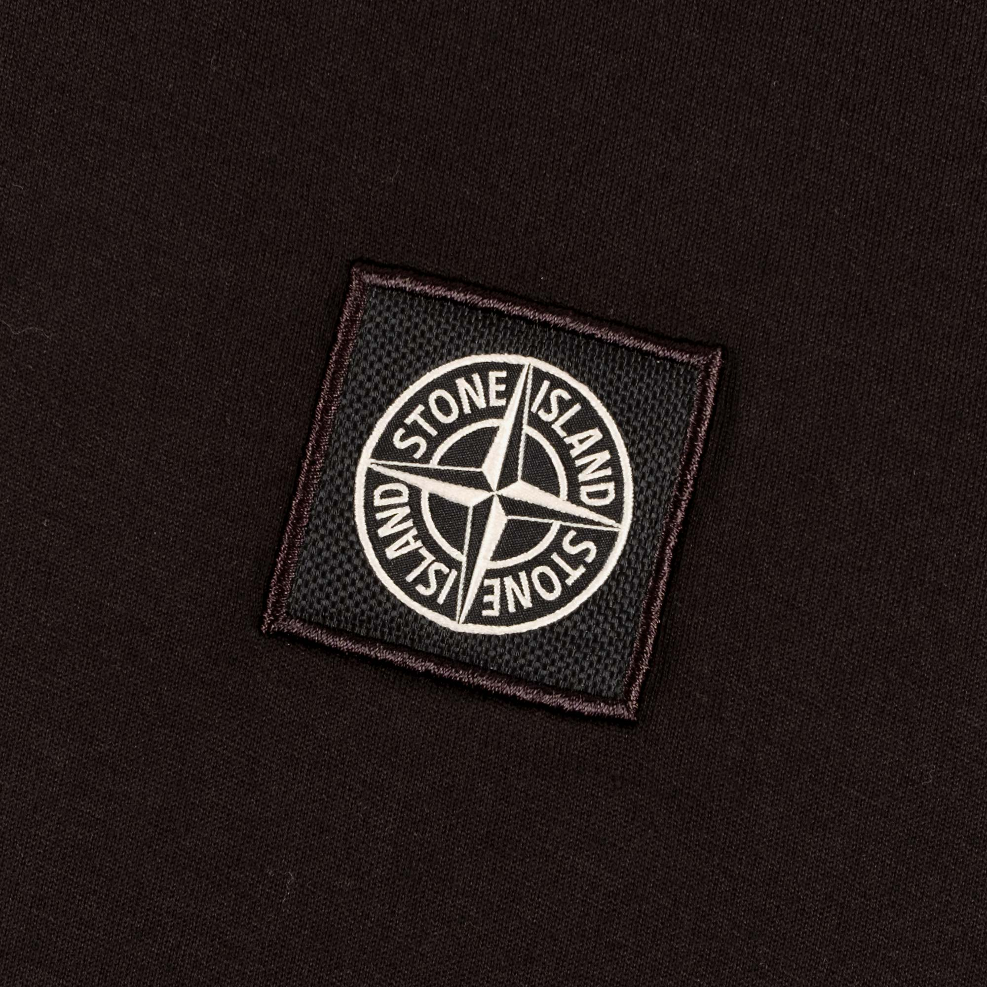 Stone Island Patch Logo T-Shirt 741524113 - Black 2