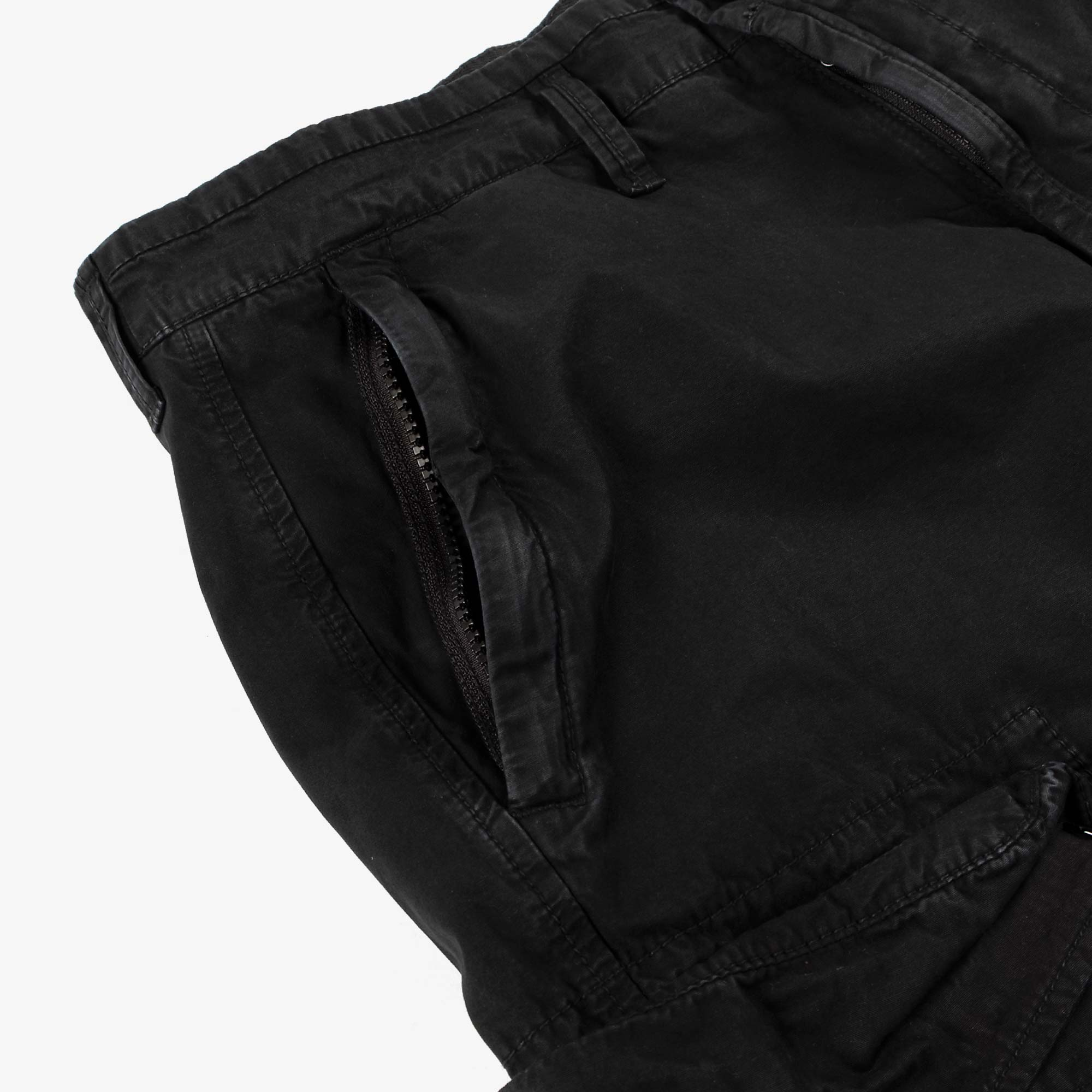 Stone Island T.CO Old Effect Cargo Pant 7415319WA - Black 4