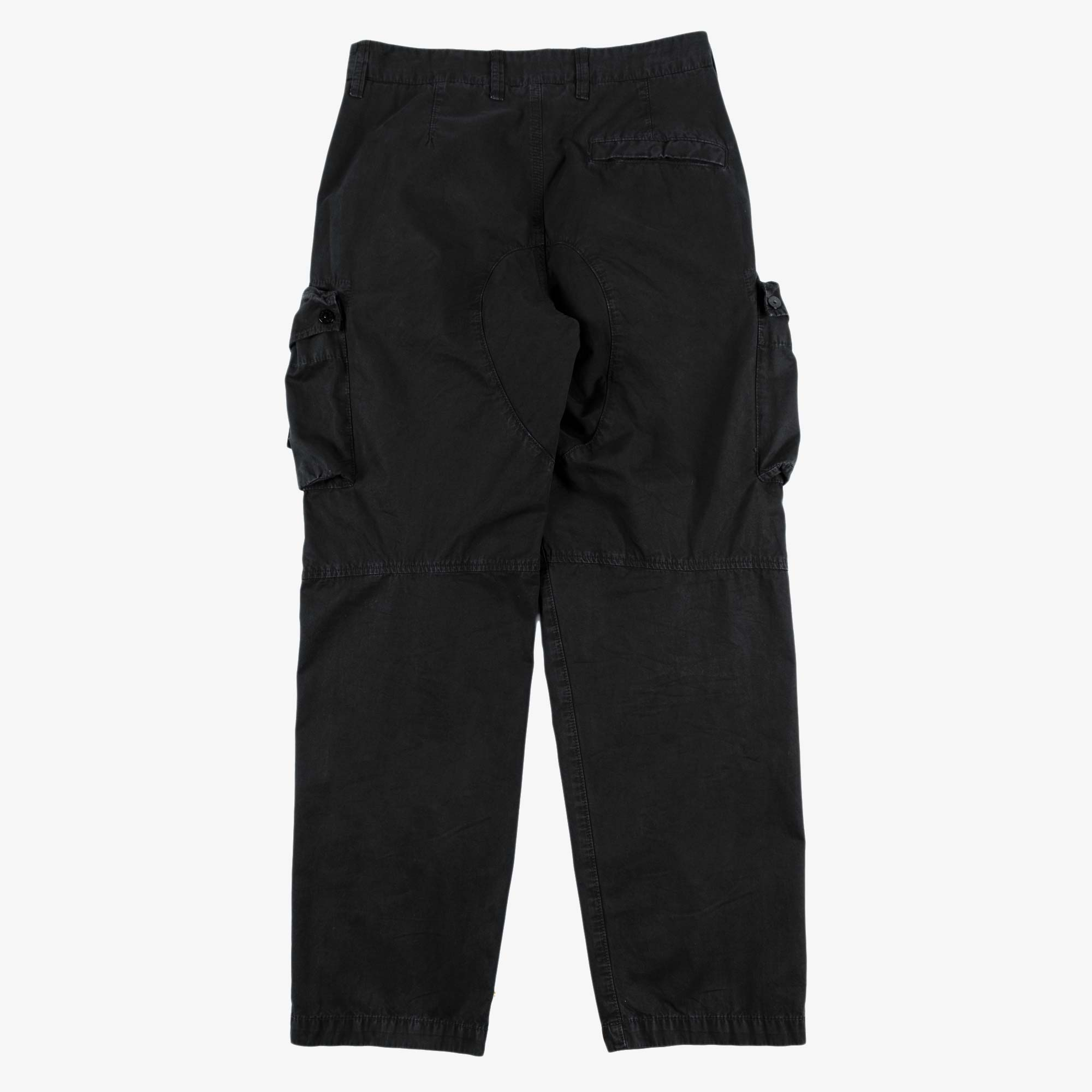 Stone Island T.CO Old Effect Cargo Pant 7415319WA - Black 6