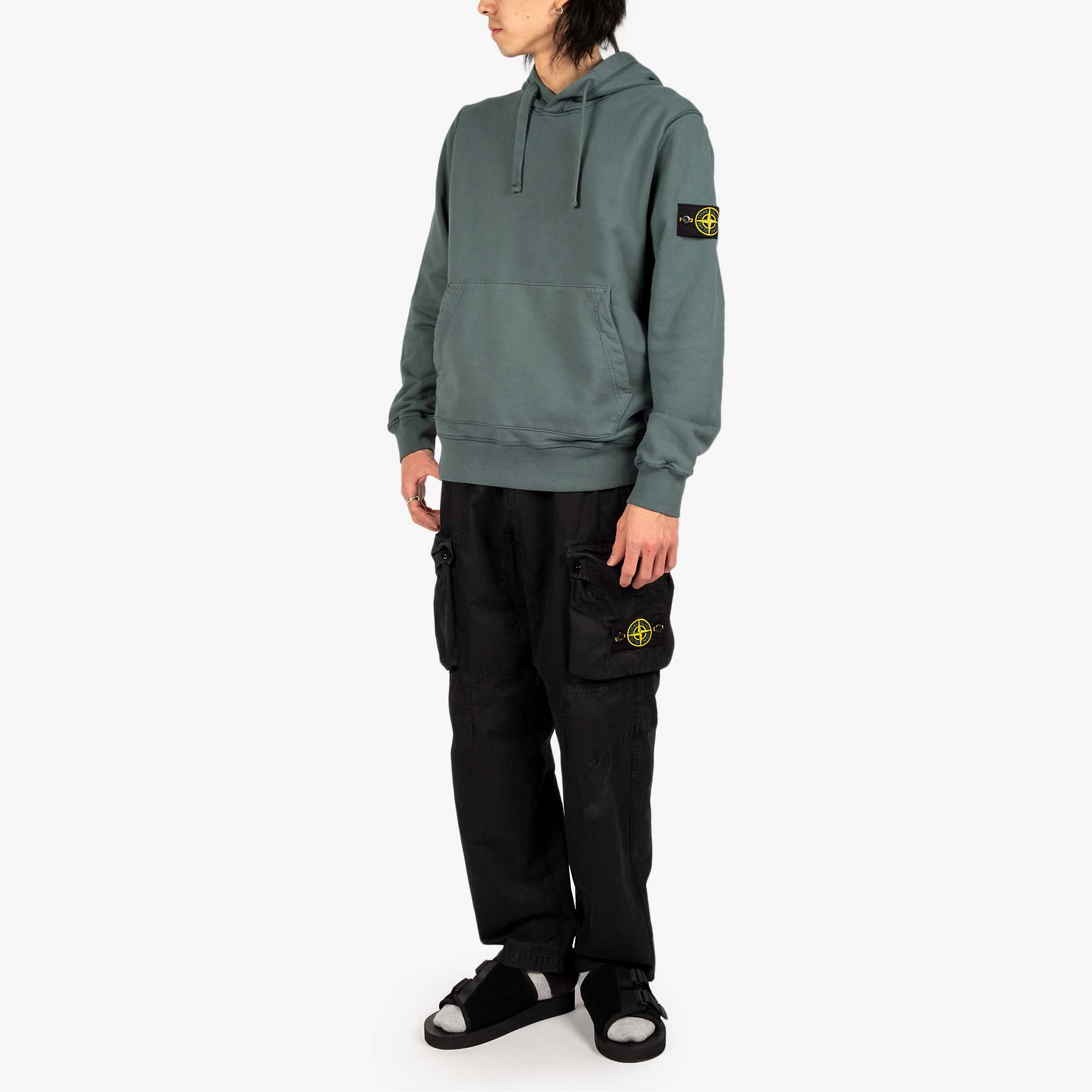 Stone Island T.CO Old Effect Cargo Pant 7415319WA - Black 7