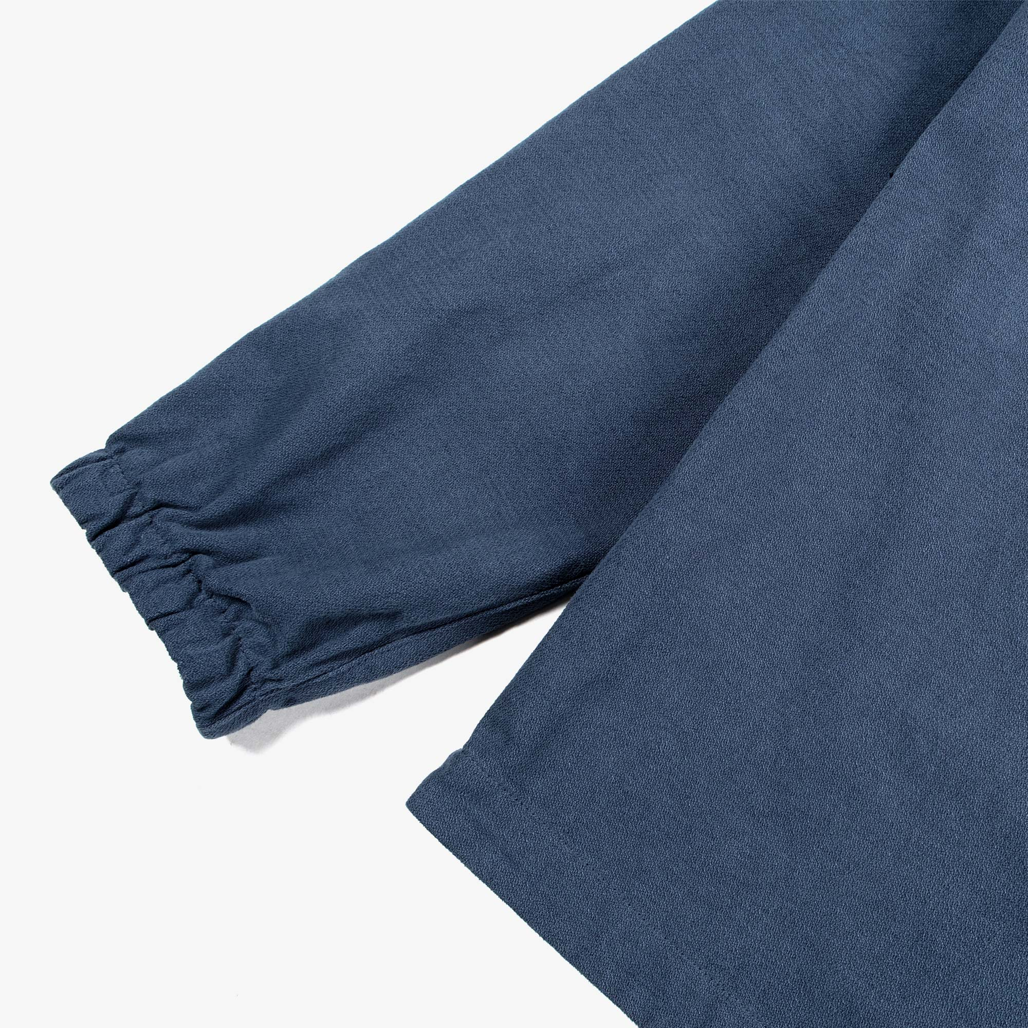 Stone Island Textured Brushed Recycled Cotton Overshirt 10704 - Cobalt Blue 7