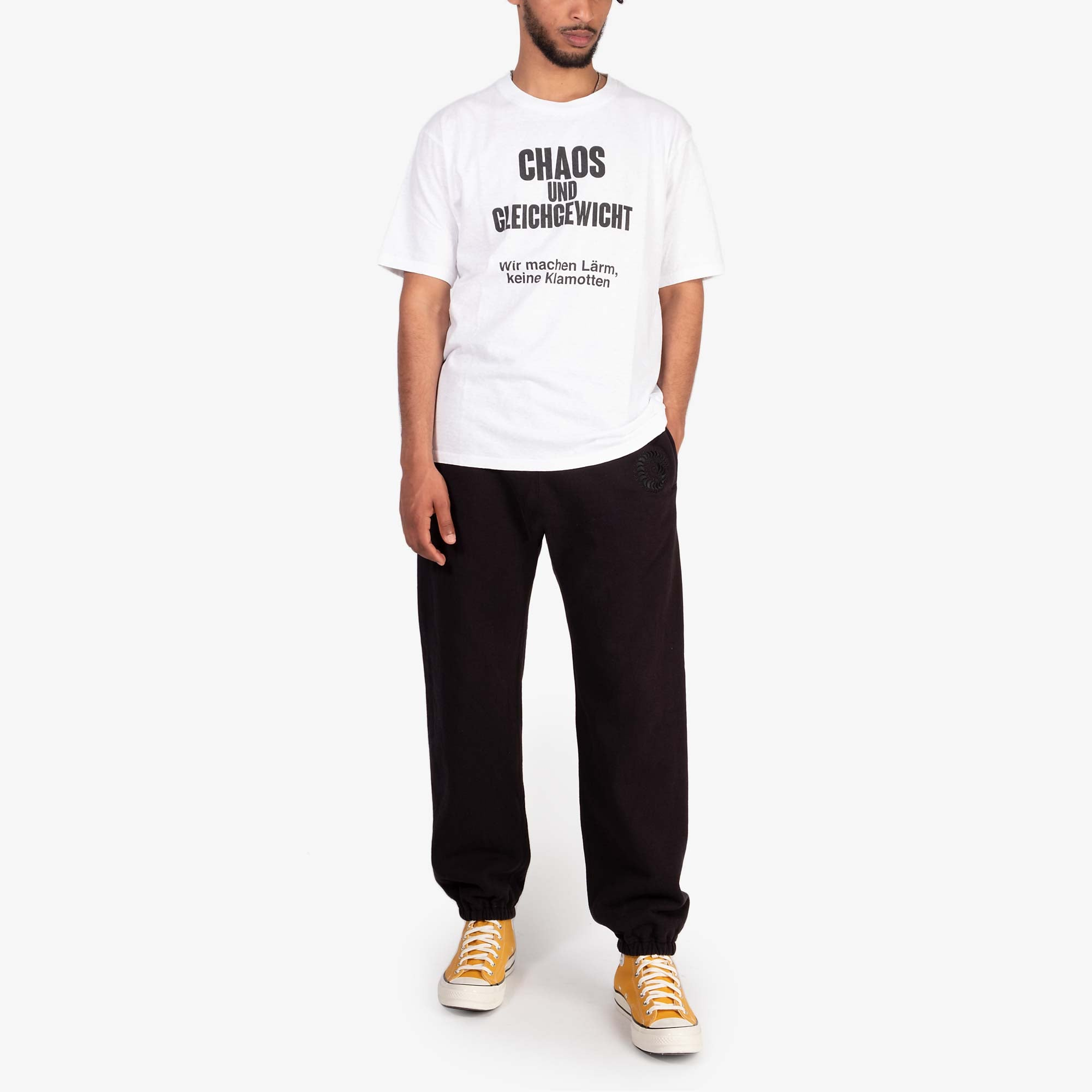 Undercover Centipede Heavy Sweatpants UCZ4510 - Black 7