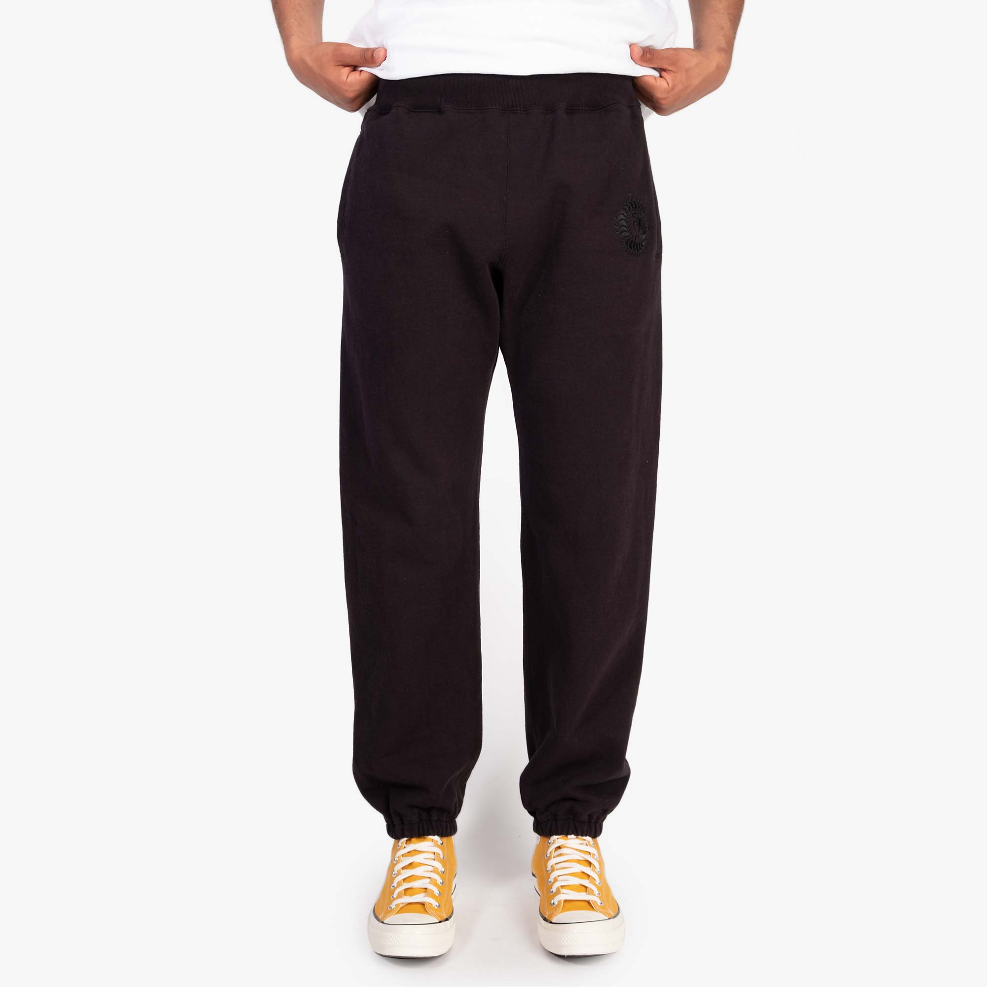Undercover Centipede Heavy Sweatpants UCZ4510 - Black 9