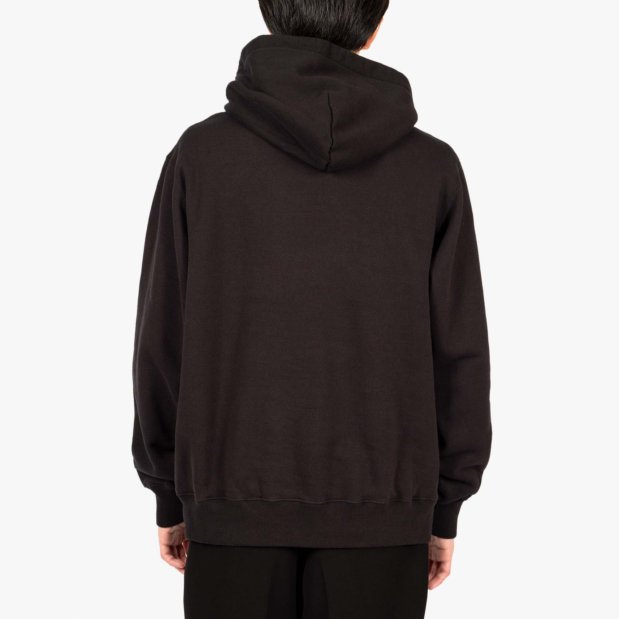 Undercover Climbing Logo Hooded Sweat UC2A4894-3 - Black 6