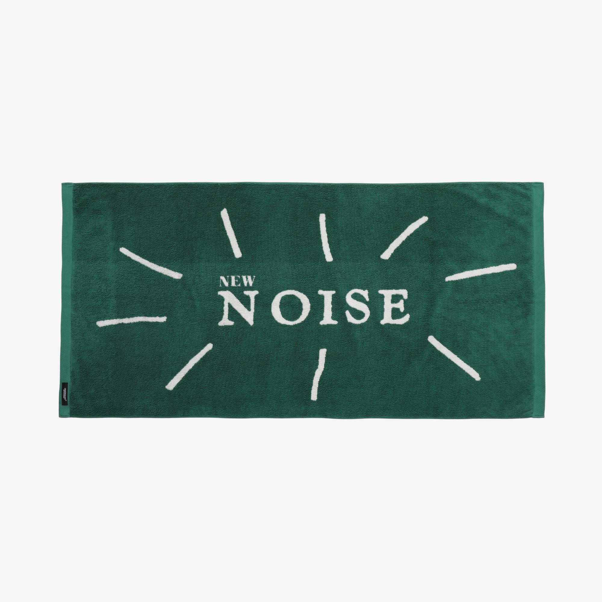 Undercover New Noise Face Towel UC1A4M03-2 - Green 1