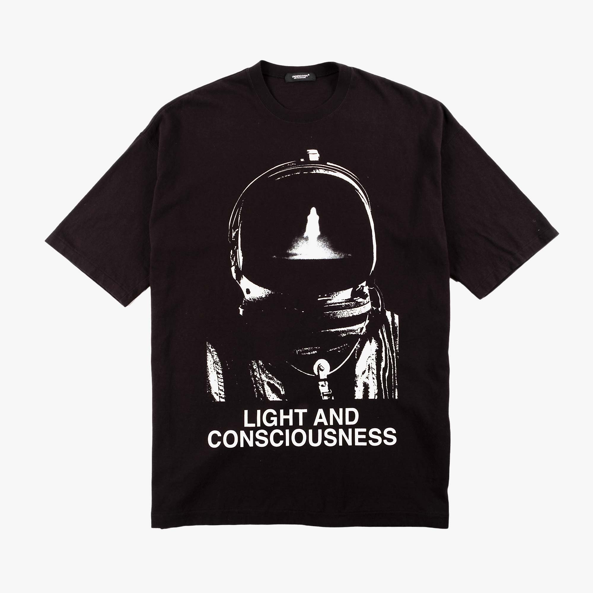 Undercover Oversized Light and Consciousness Tee UC1A4893-2 - Black 1