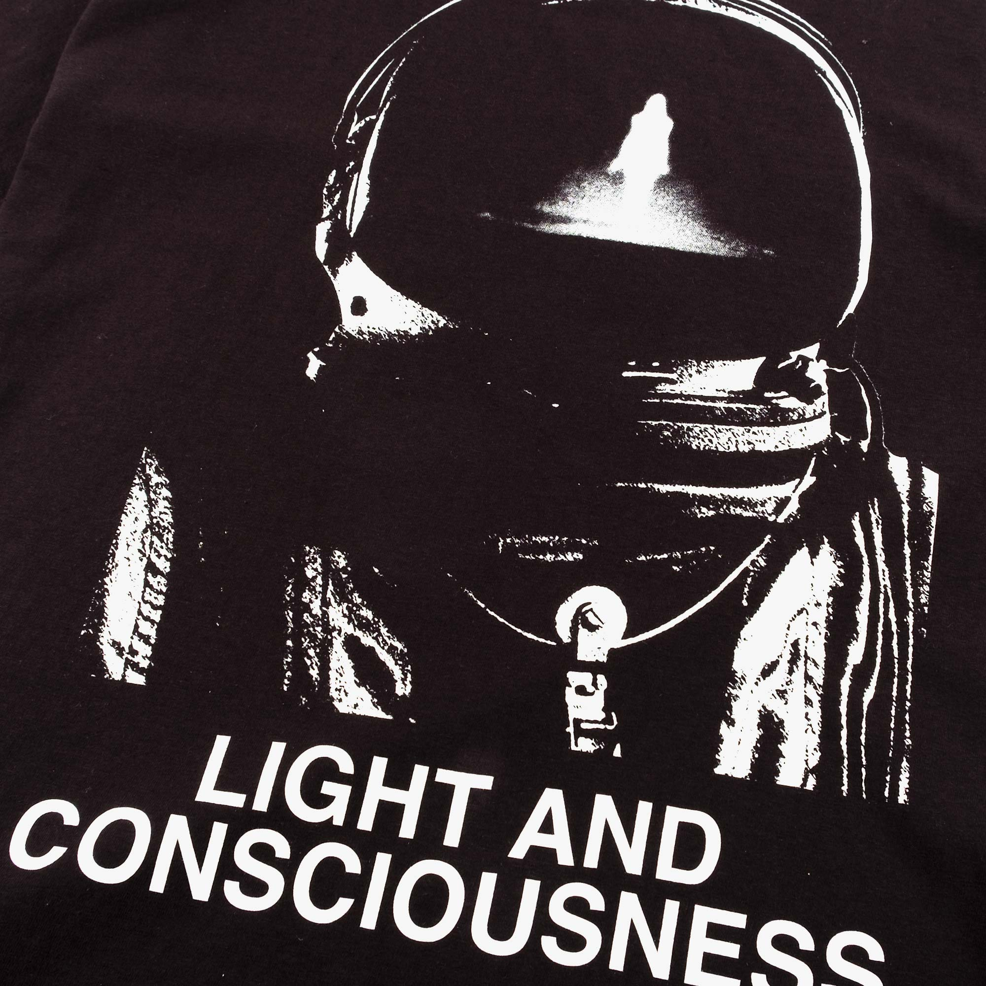 Undercover Oversized Light and Consciousness Tee UC1A4893-2 - Black 2