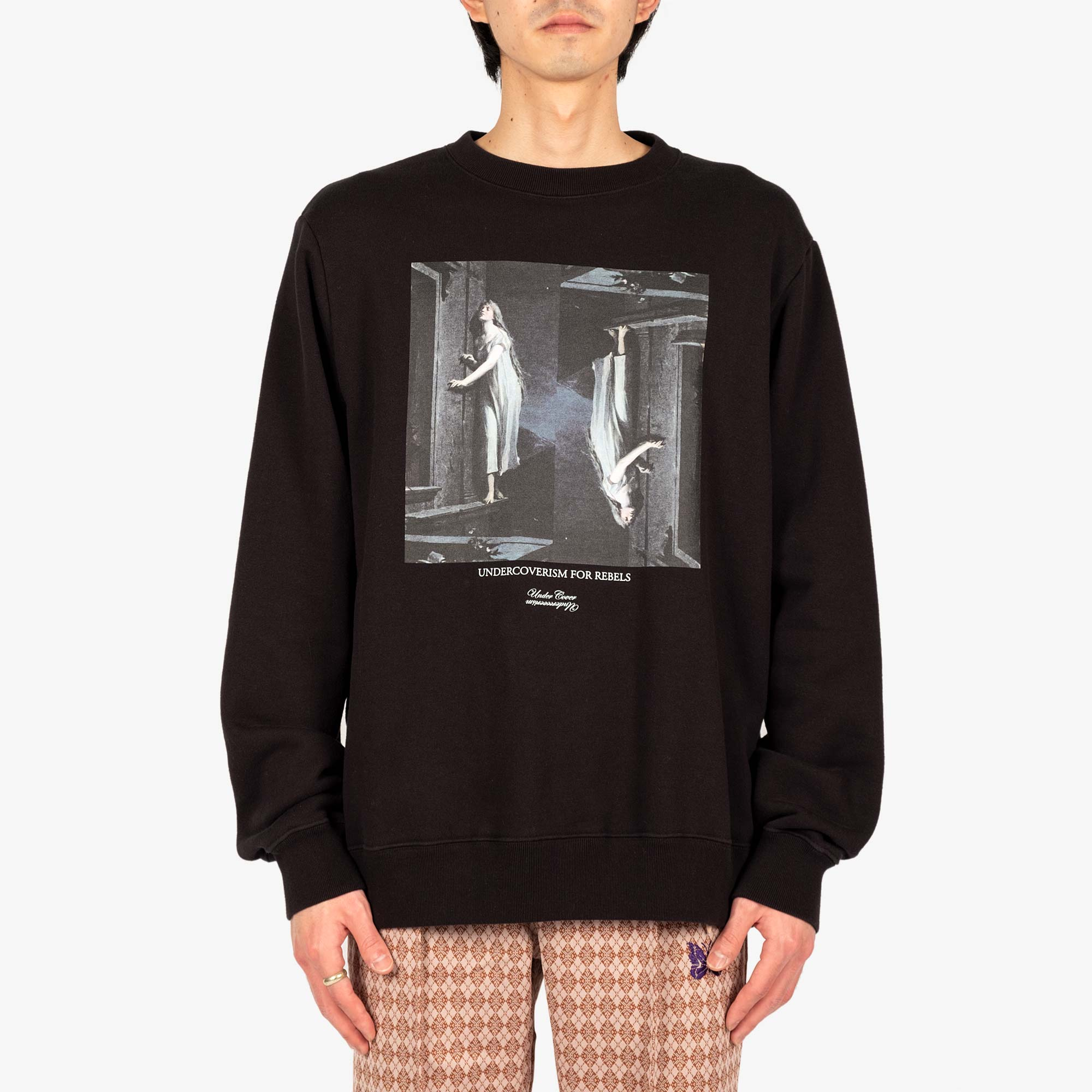 Undercover Painting Sweat UC2A4893-2 - Black 2