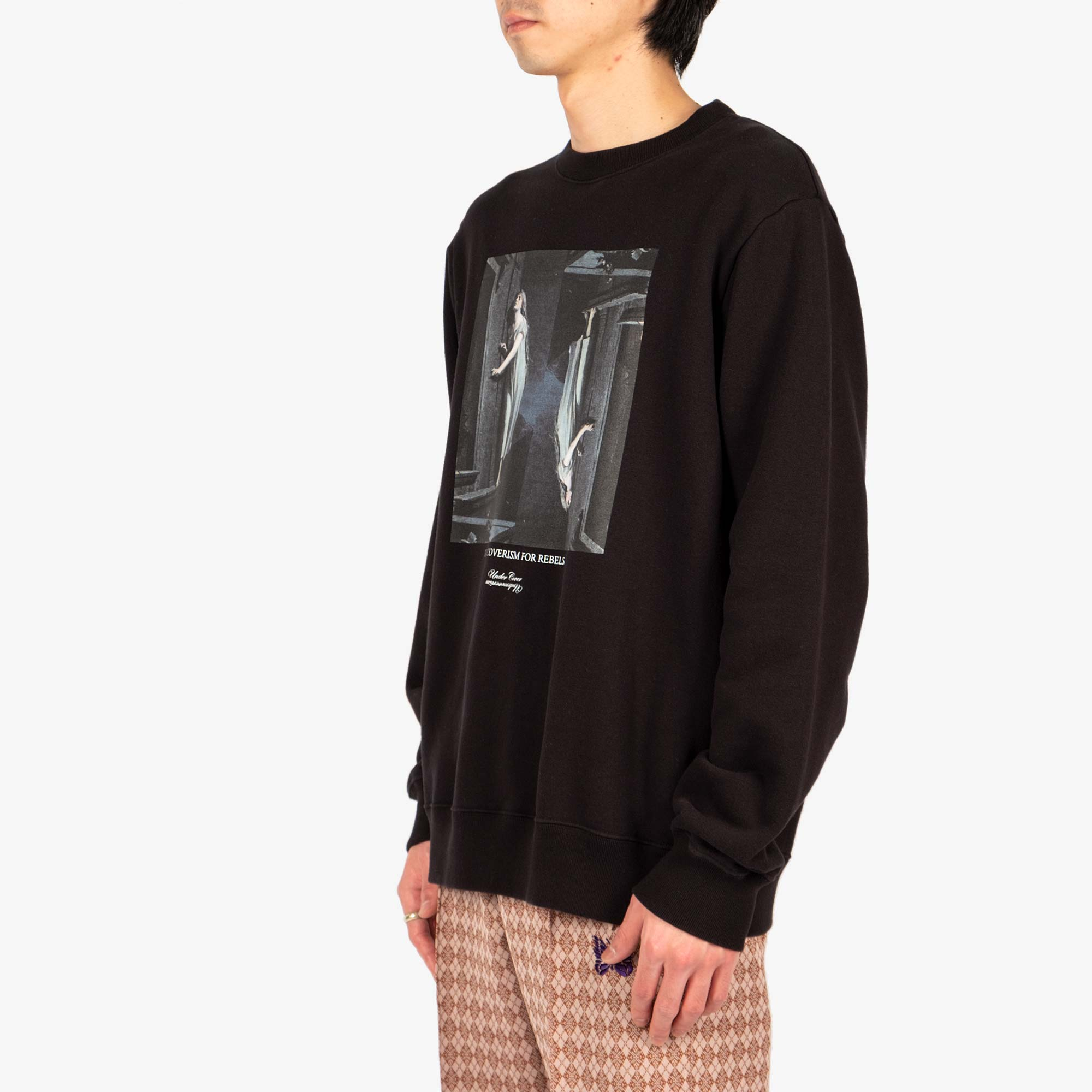 Undercover Painting Sweat UC2A4893-2 - Black 4