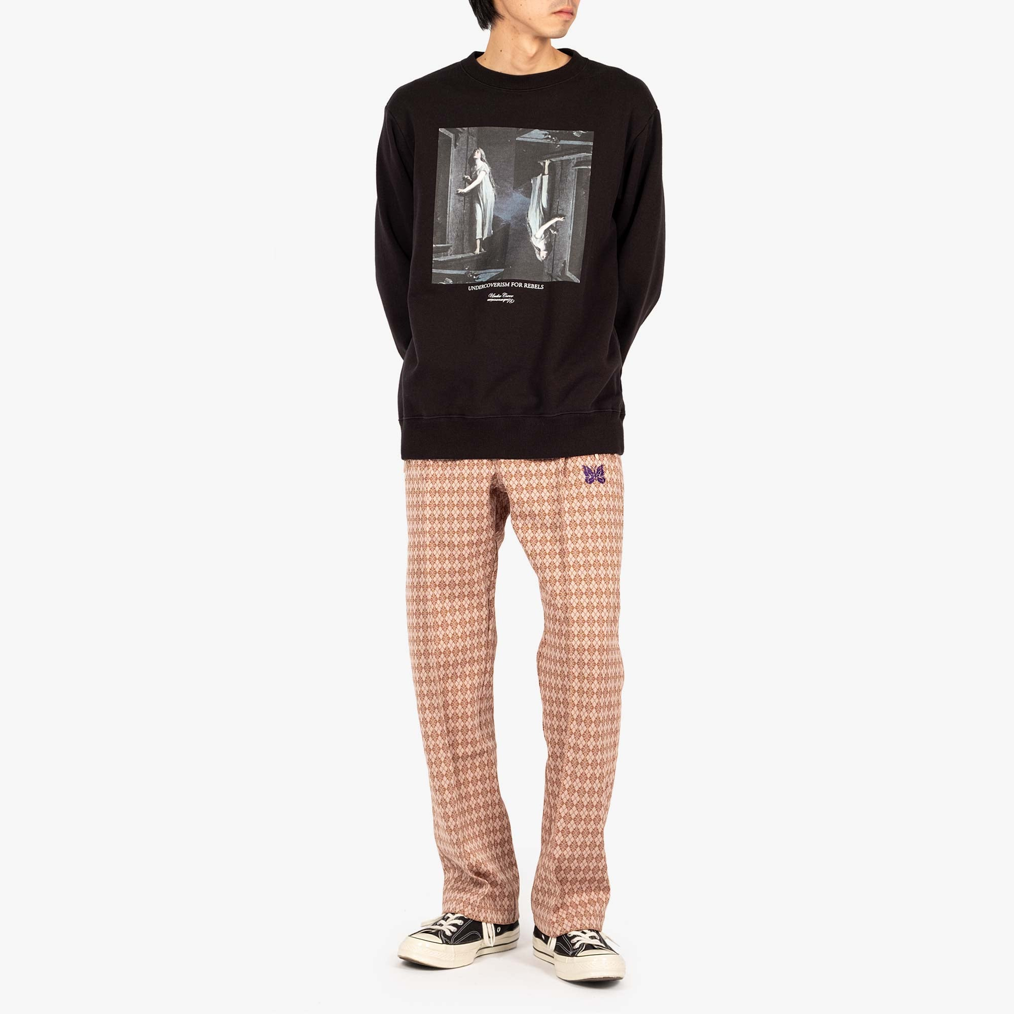 Undercover Painting Sweat UC2A4893-2 - Black 3