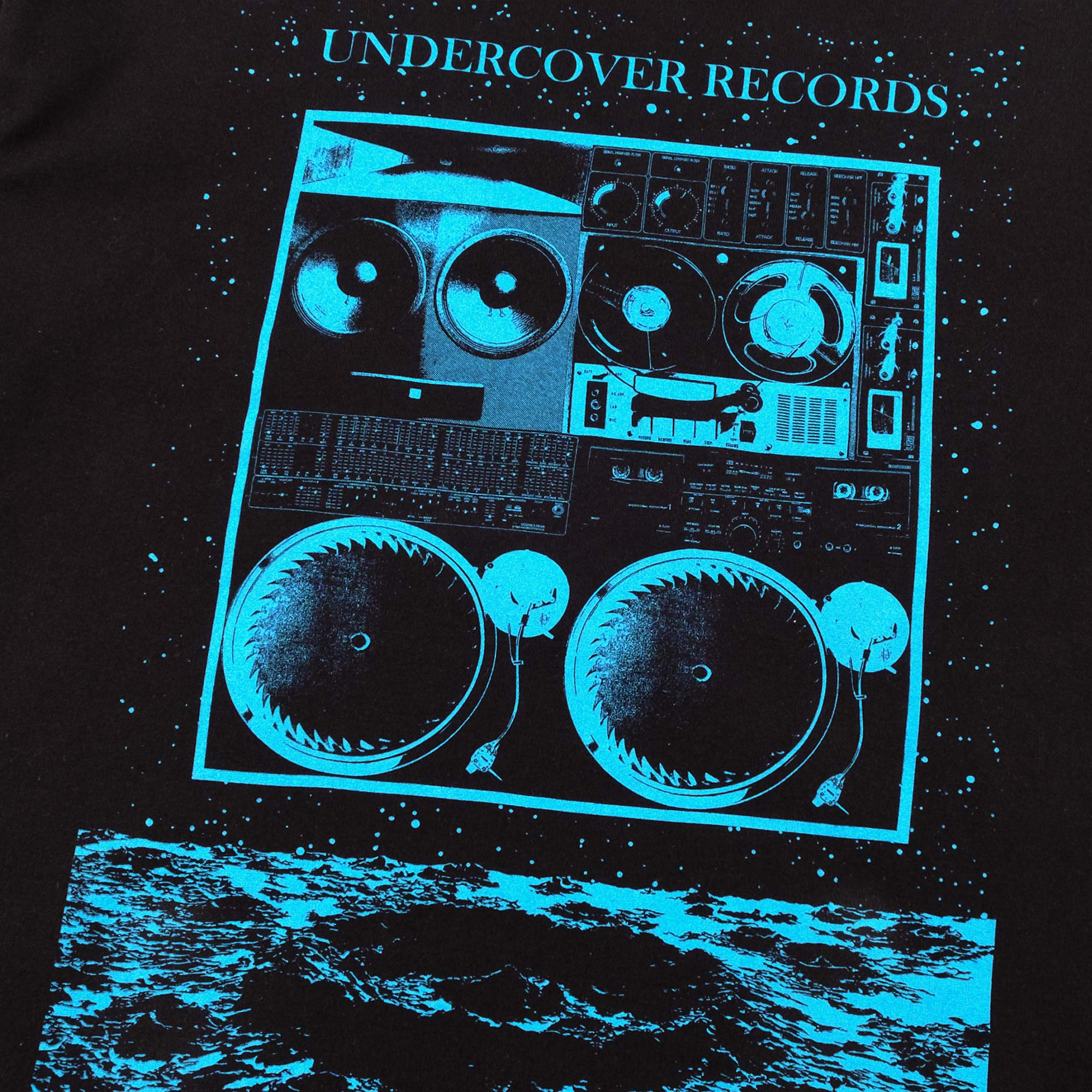 Undercover Records Tee UC1A3803 - Black 3
