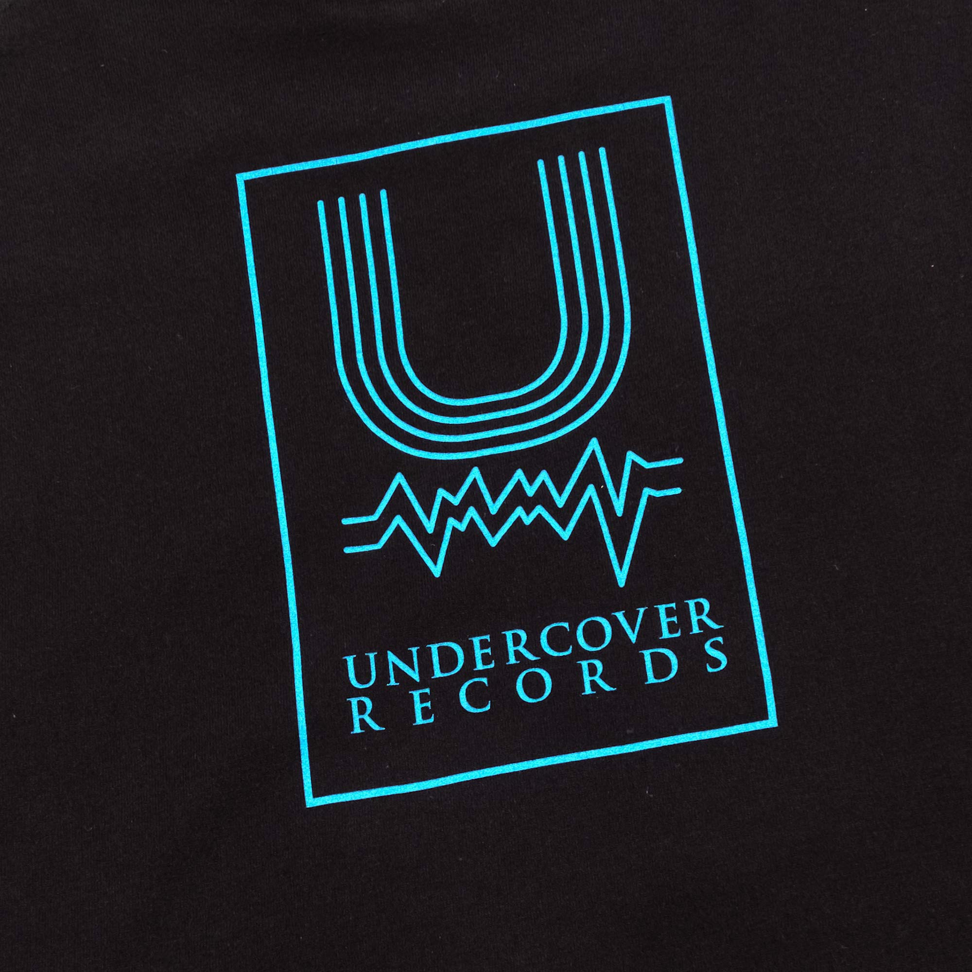 Undercover Records Tee UC1A3803 - Black 4