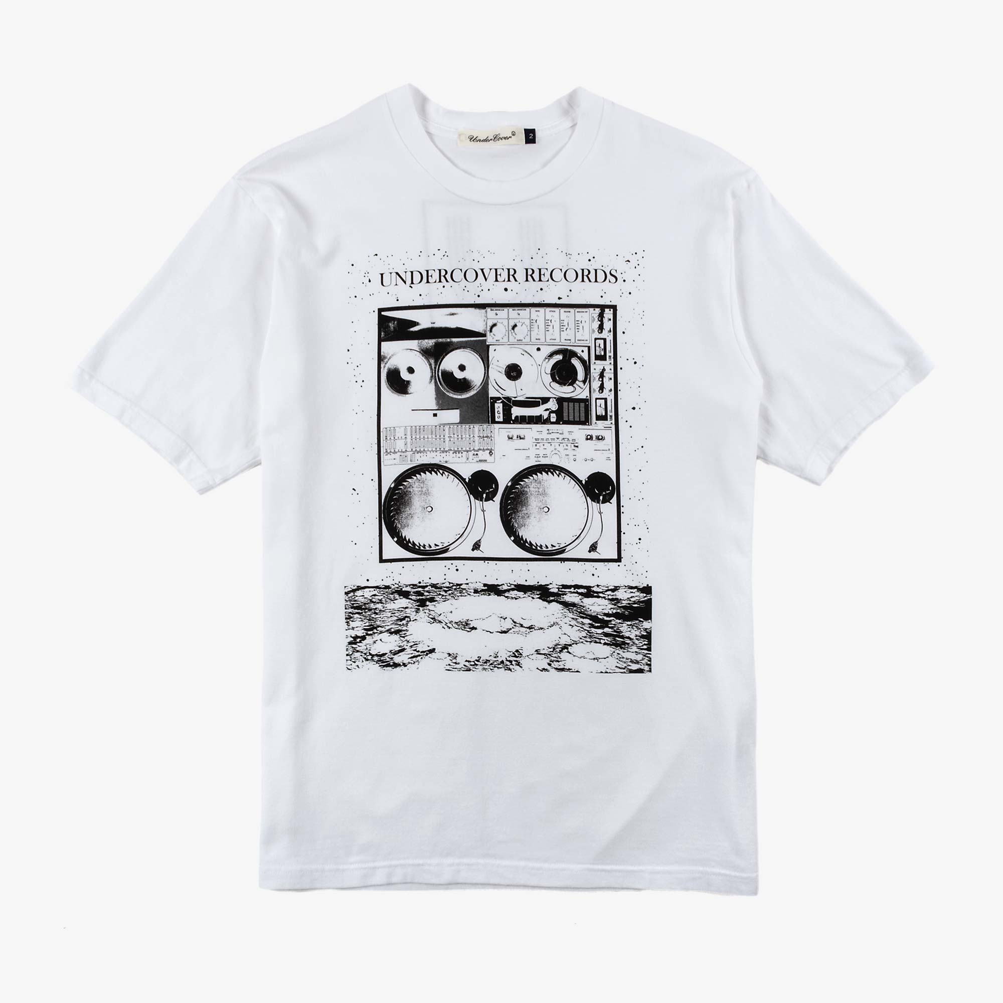 Undercover Records Tee UC1A3803 - White 1