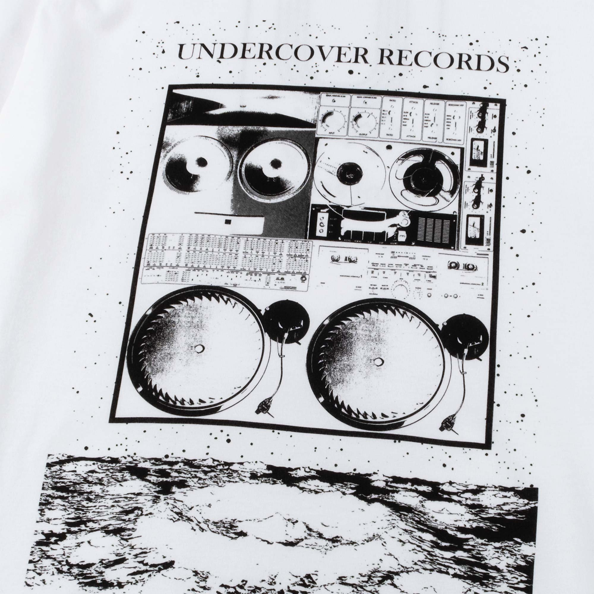 Undercover Records Tee UC1A3803 - White 3