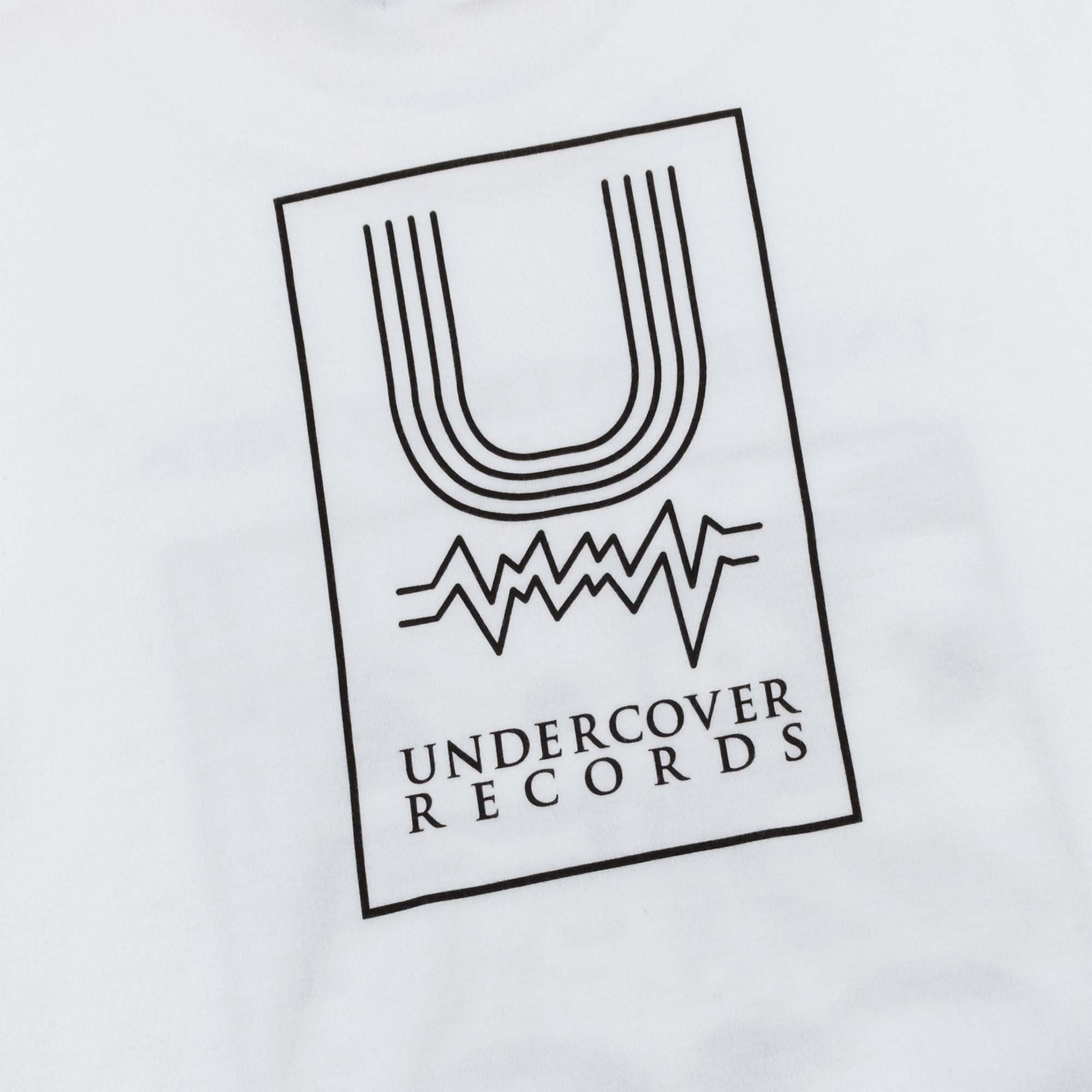 Undercover Records Tee UC1A3803 - White 4