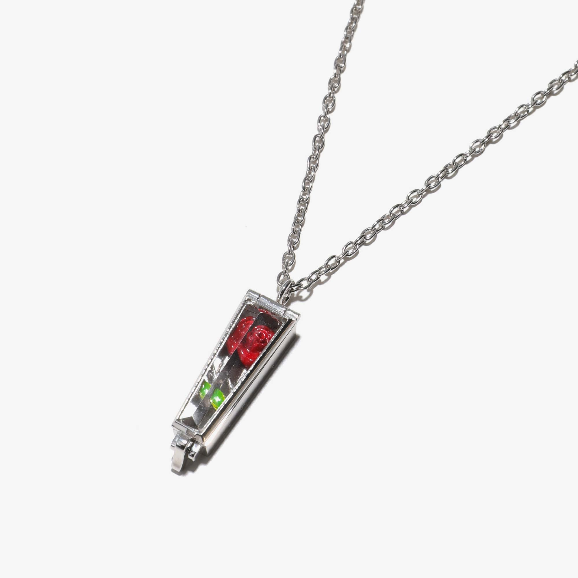 Undercover Rose Case Necklace UC1A4N02 - Silver 925 2