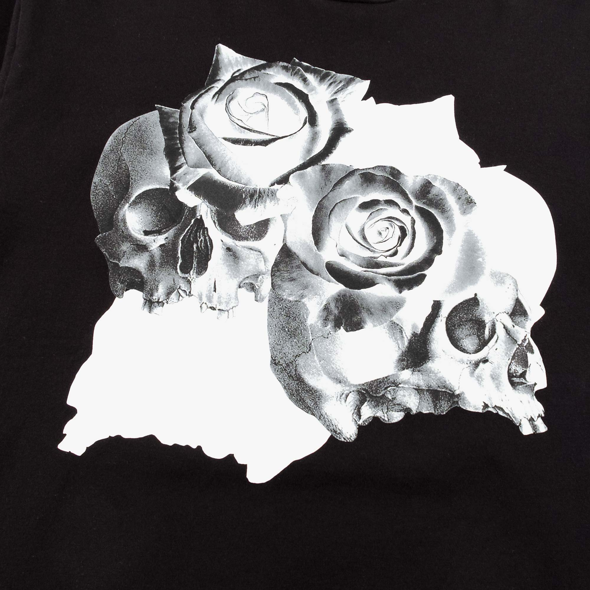 Undercover Roses Skull Tee UC1A3810 - Black 2