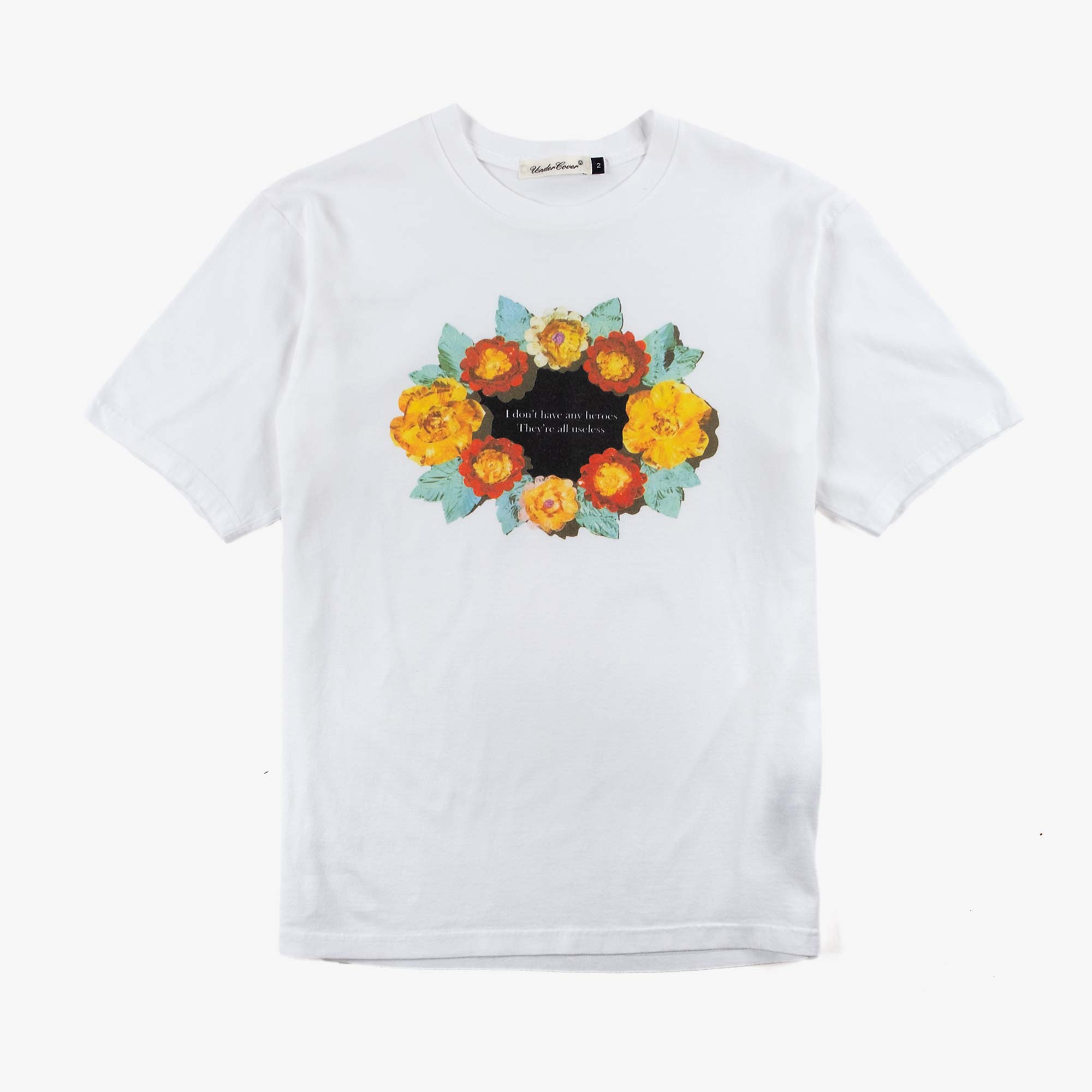Undercover Roses Tee UC1A3801 - White 1