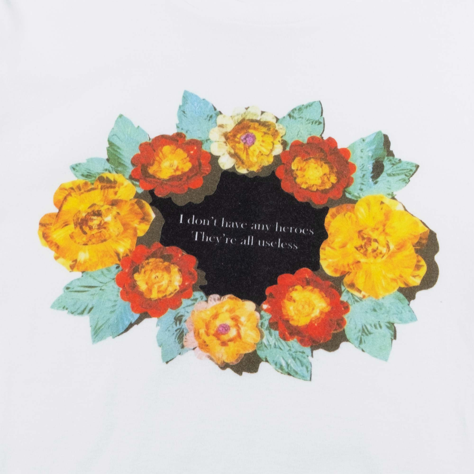 Undercover Roses Tee UC1A3801 - White 2