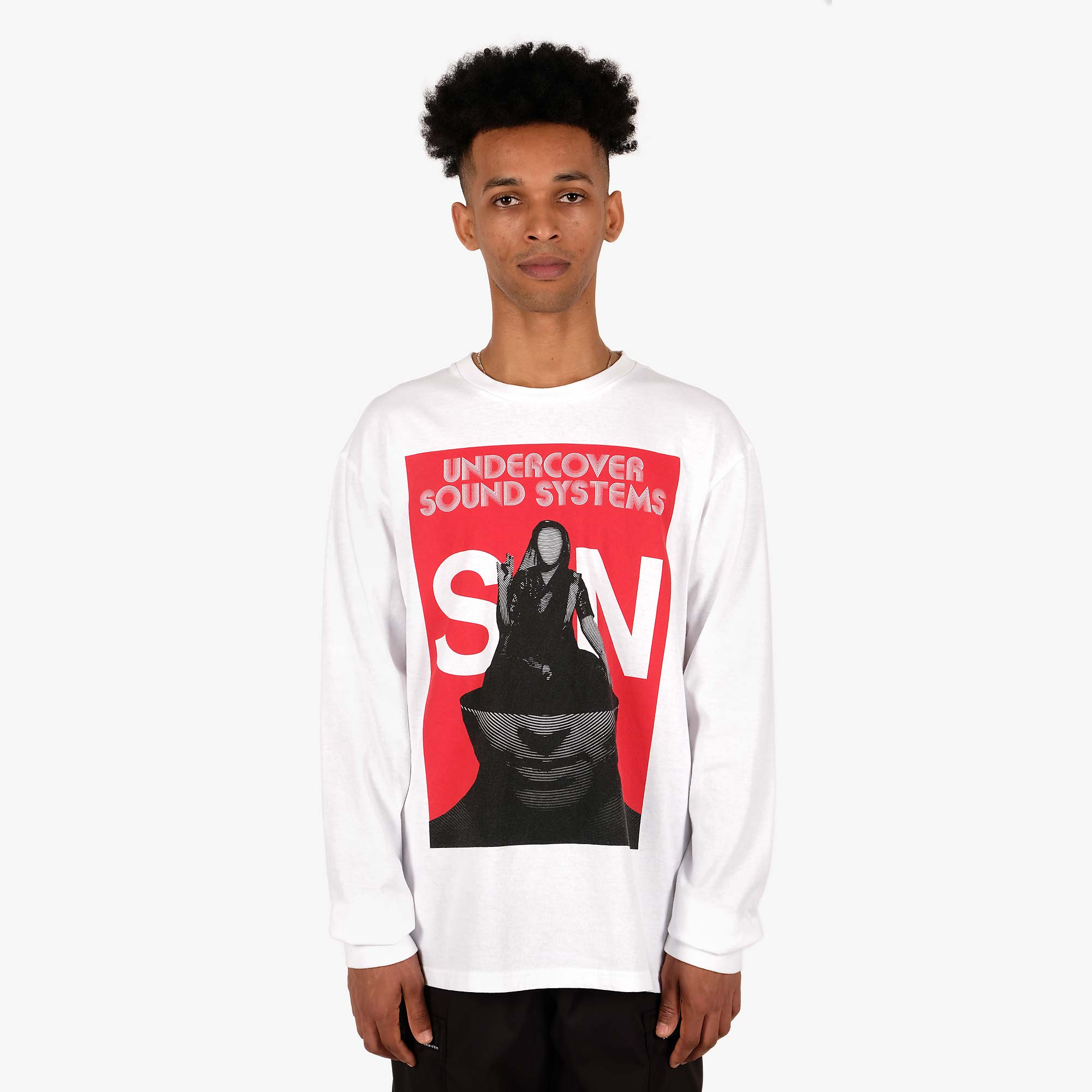 Undercover Sound Systems LS T-Shirt UCY3892-4 - White 2