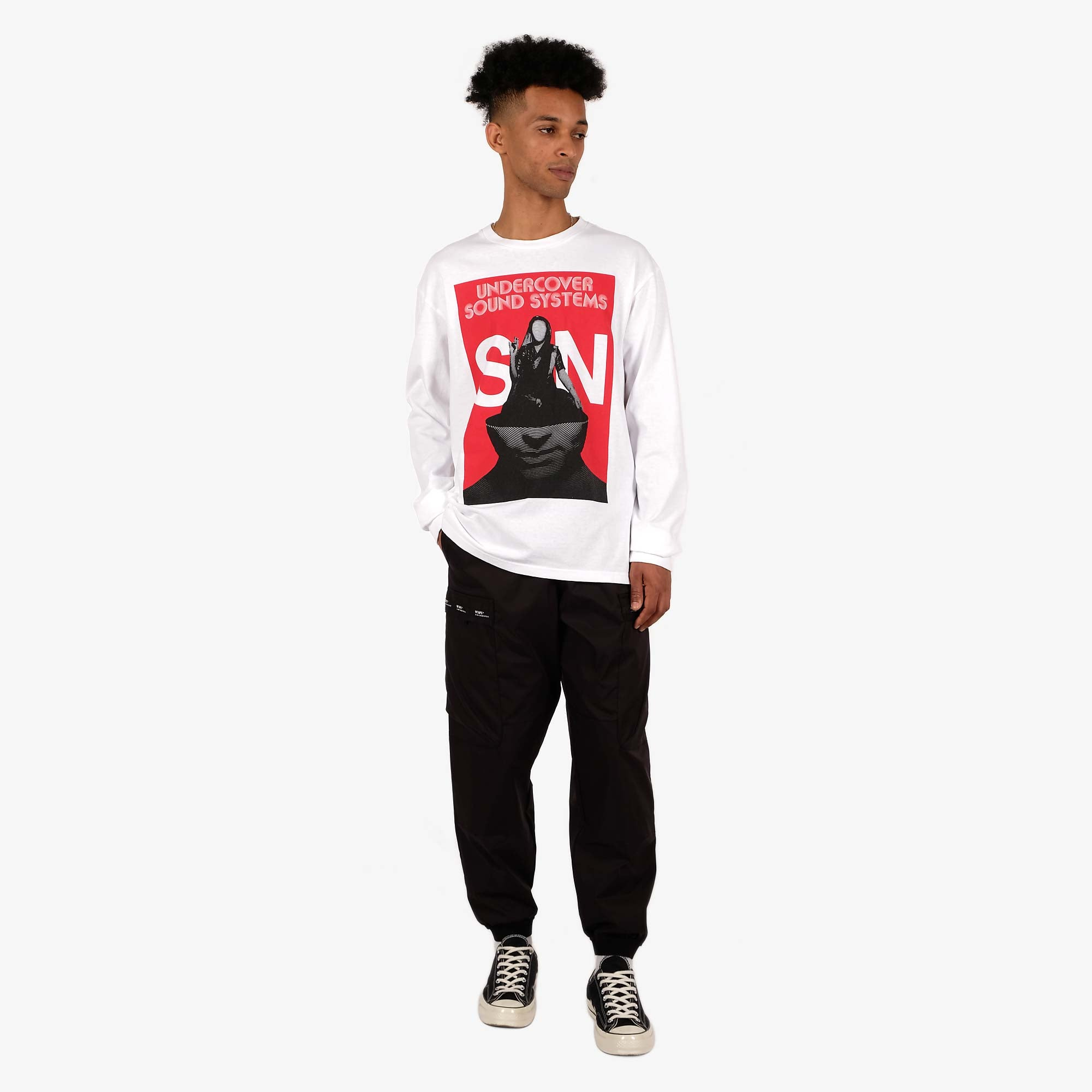Undercover Sound Systems LS T-Shirt UCY3892-4 - White 3