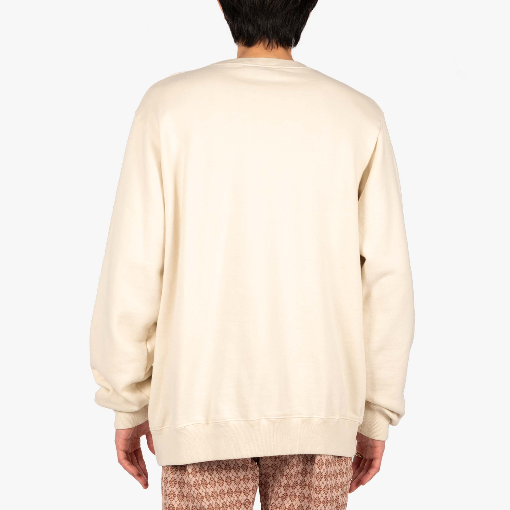 Undercover Teddy Sweat UC2A4893-6 - Ivory 5