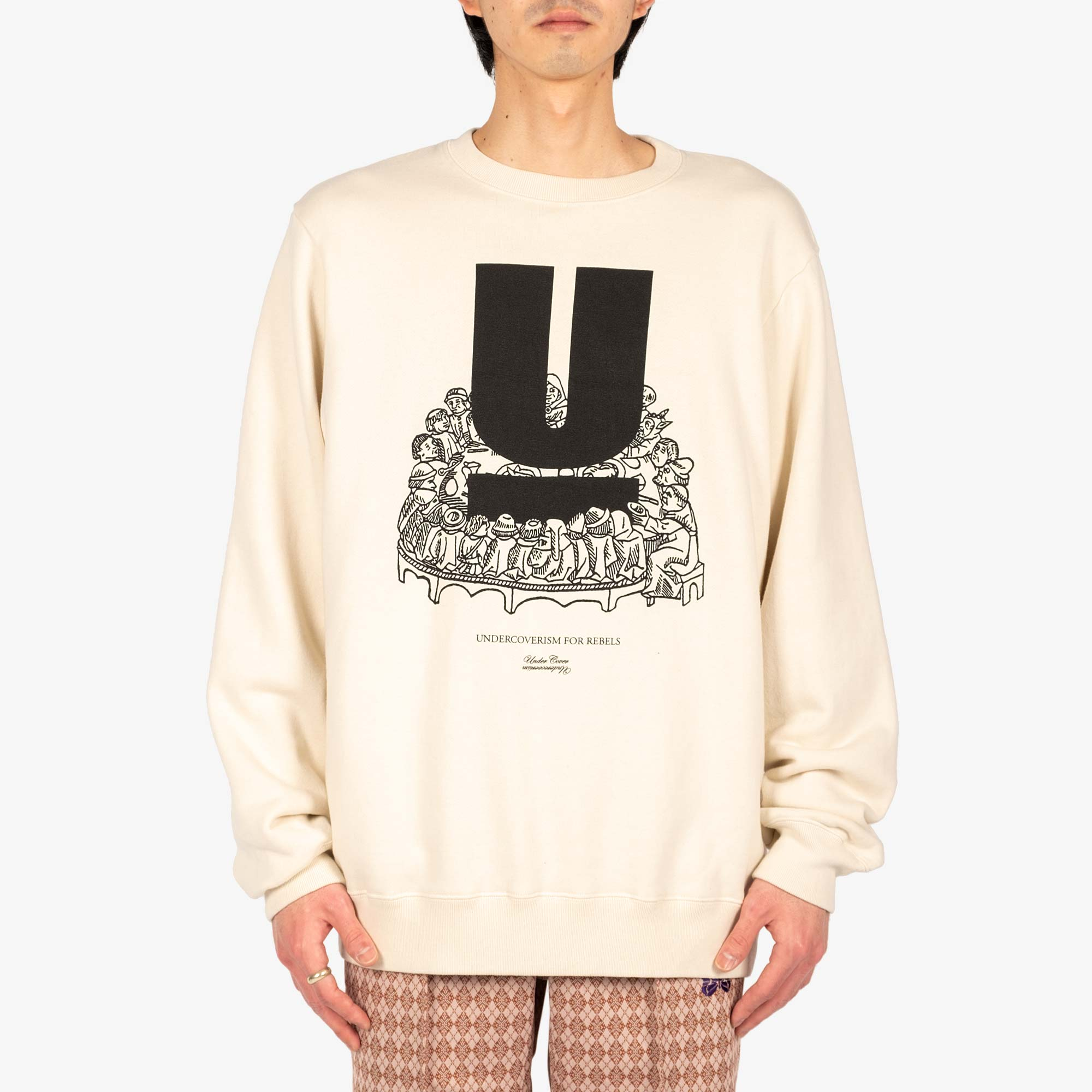 Undercover U Table Sweat UC2A4893-4 - Ivory 2