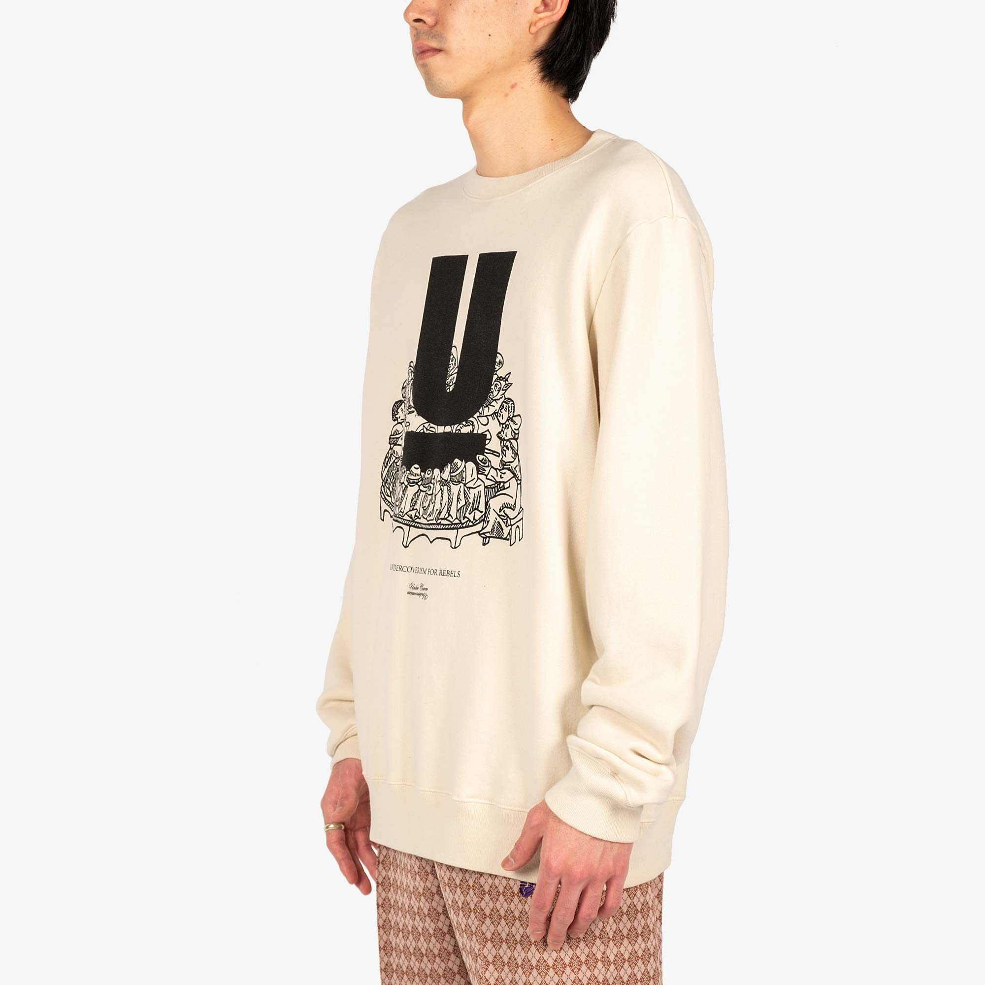 Undercover U Table Sweat UC2A4893-4 - Ivory 4
