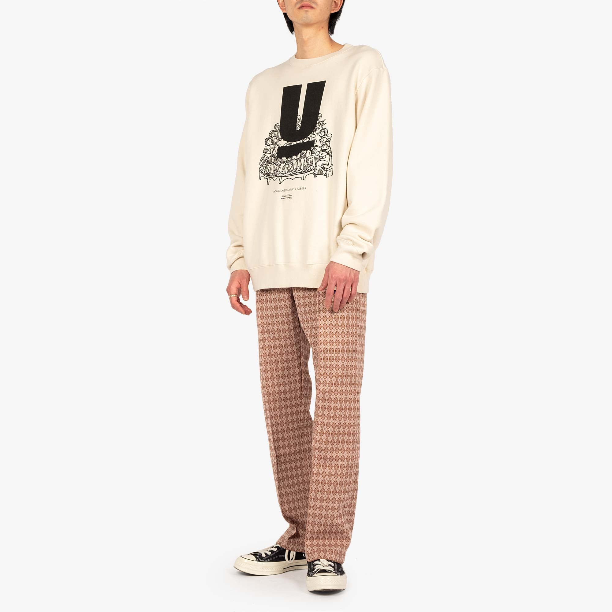 Undercover U Table Sweat UC2A4893-4 - Ivory 3