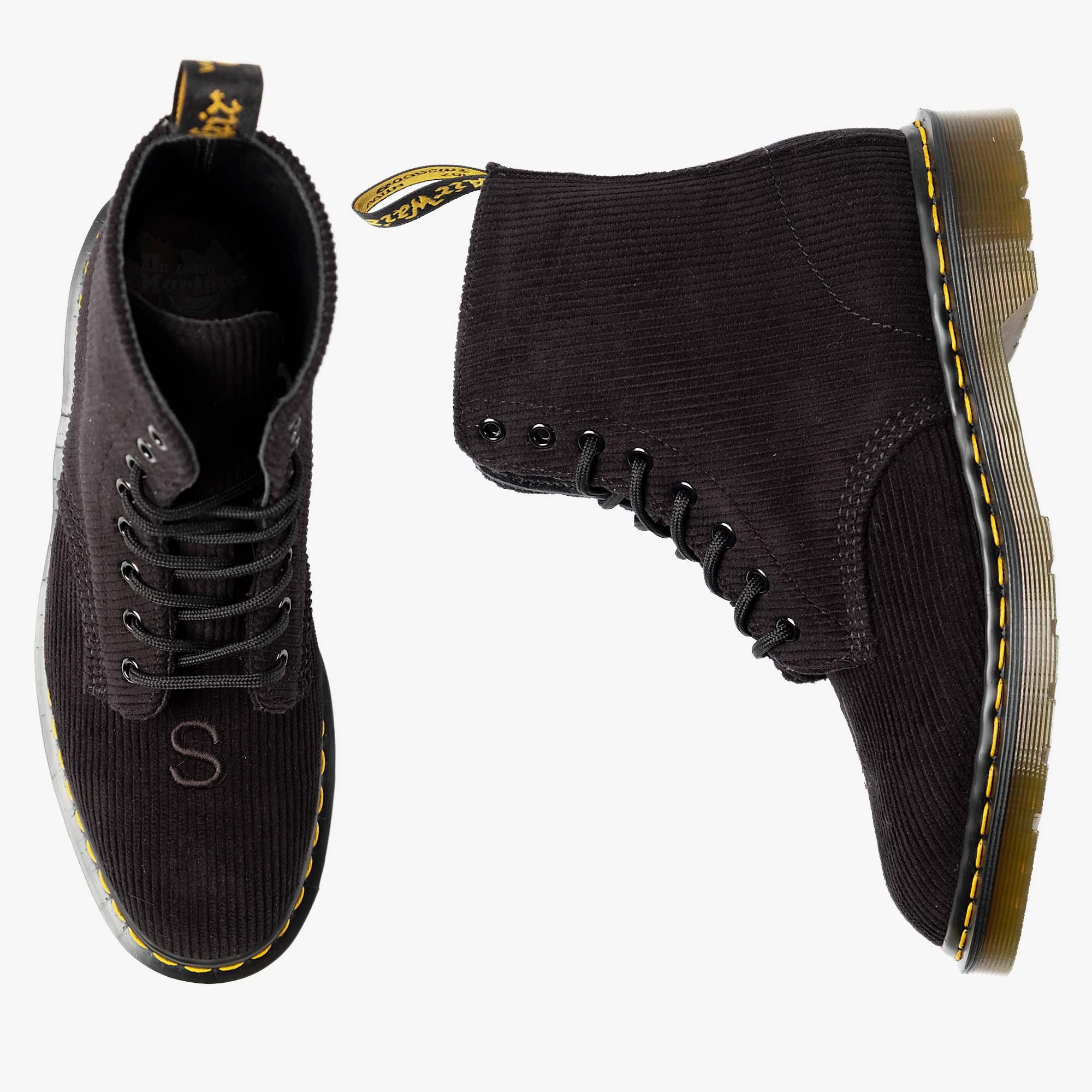 Undercover Undercover x Dr. Martens 1460 Corduroy - Black 1