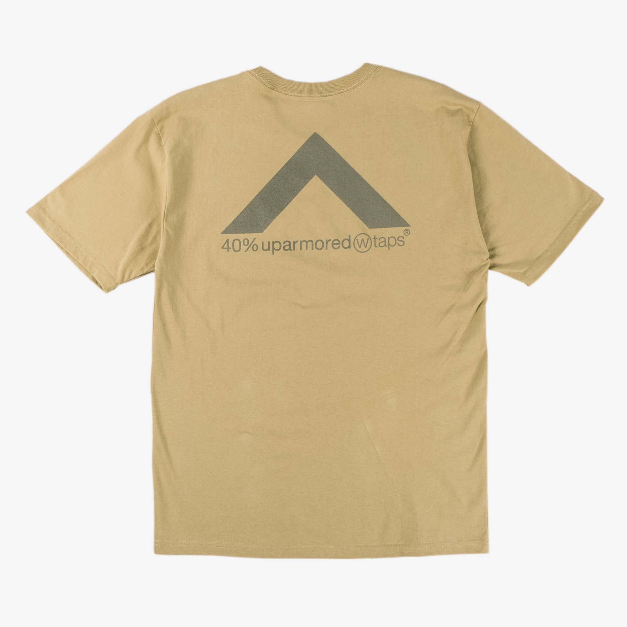 WTAPS 40PCT Uparmored Tee - Beige 1
