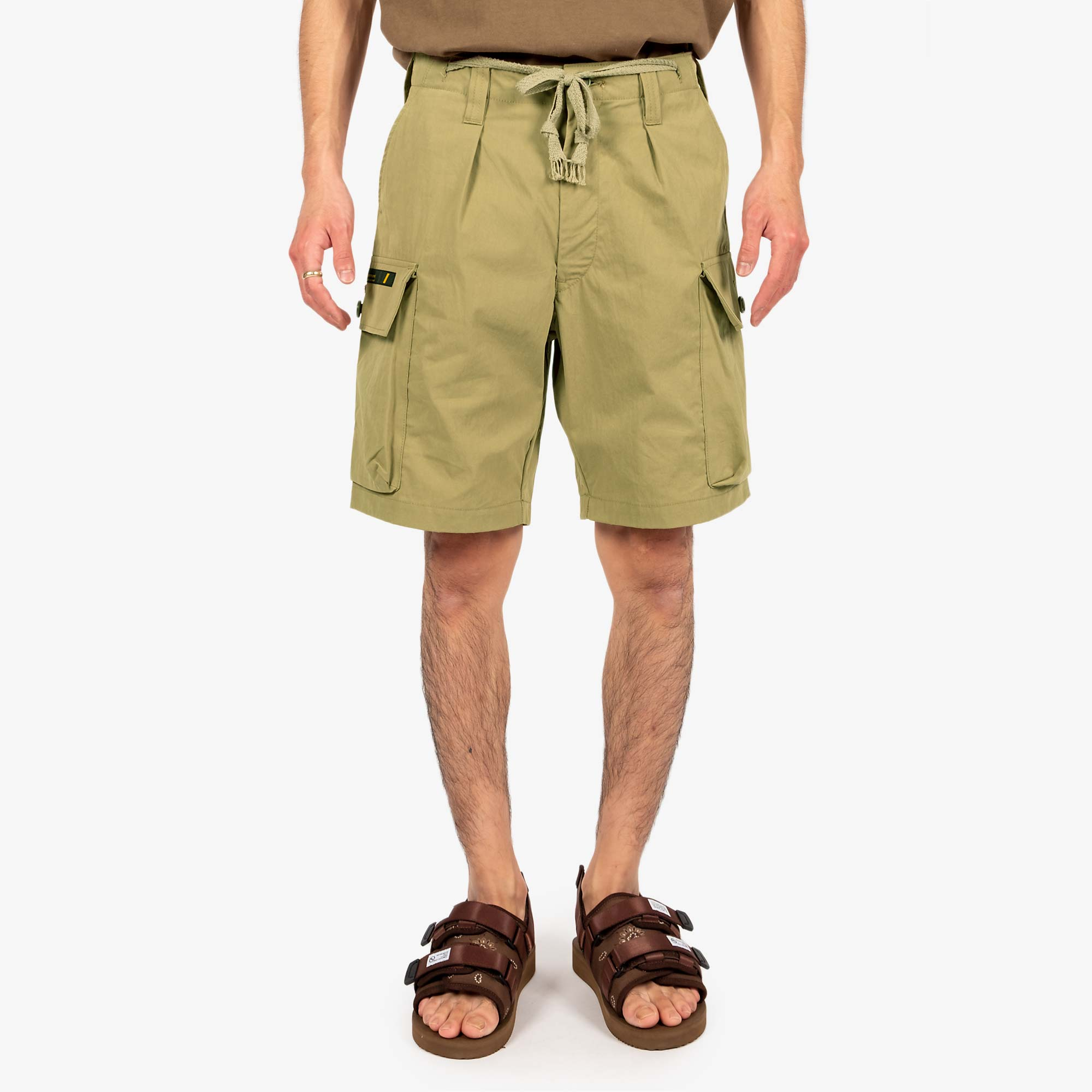 WTAPS Jungle Country Nyco Shorts - Olive Drab 8